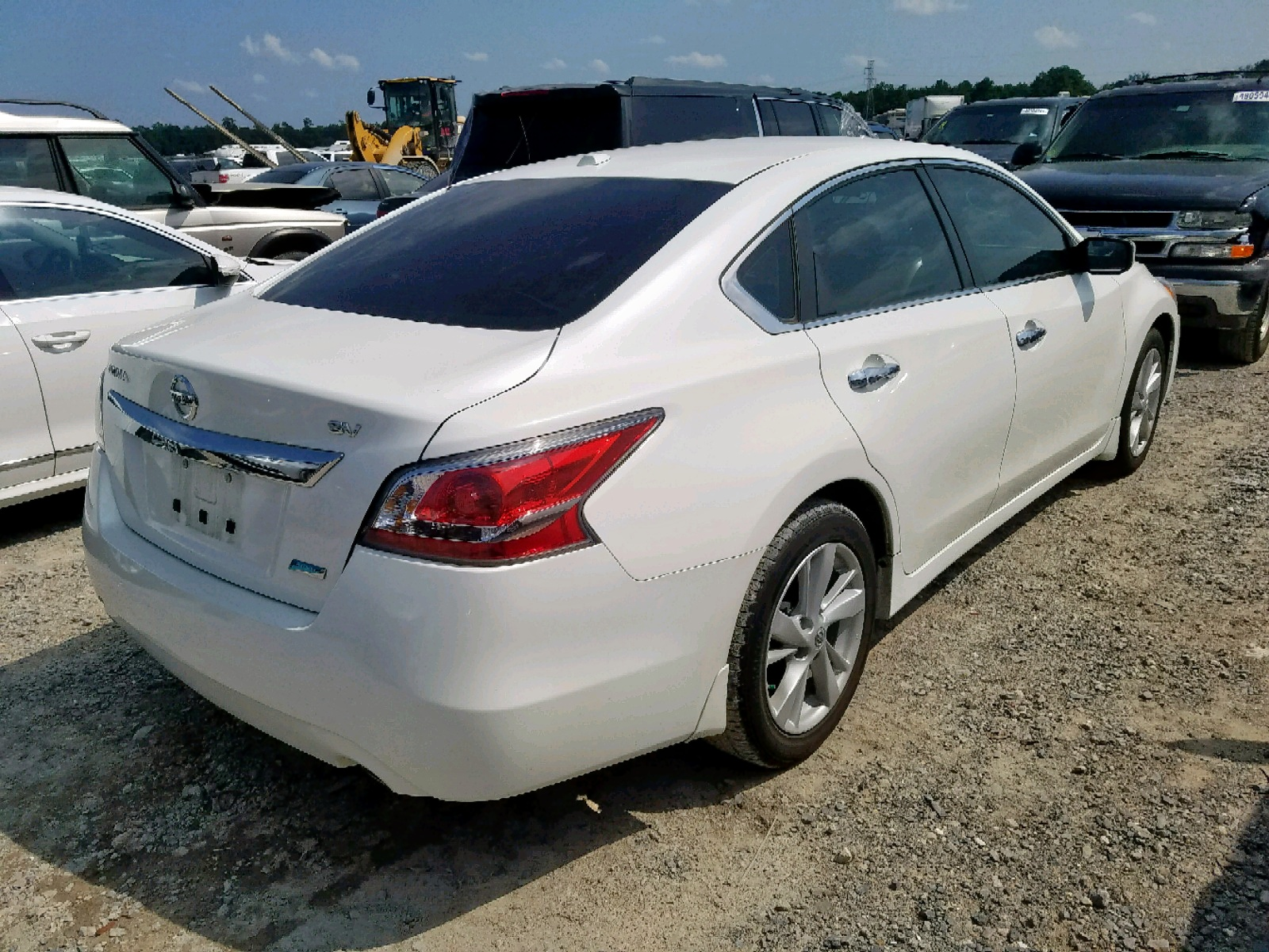 1N4AL3AP2EC284882 - 2014 Nissan Altima 2.5 2.5L rear view
