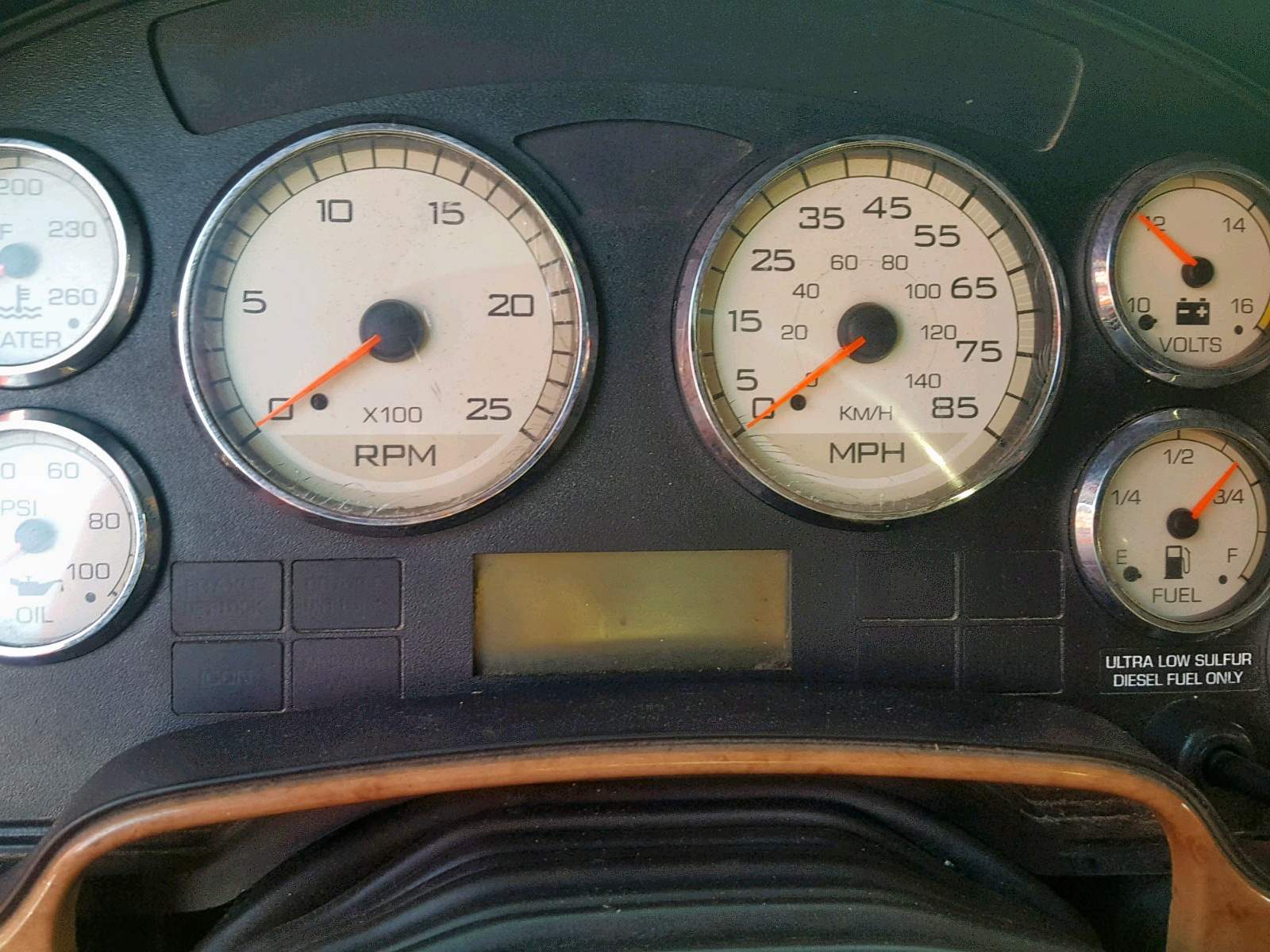 2010 International Prostar Pr 14.9L front view