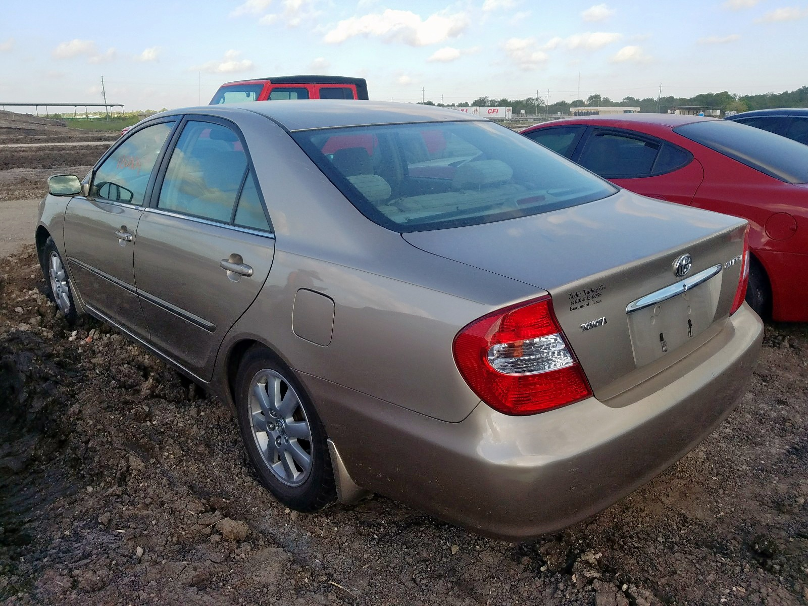 2002 Toyota Camry Le 2.4L [Angle] View