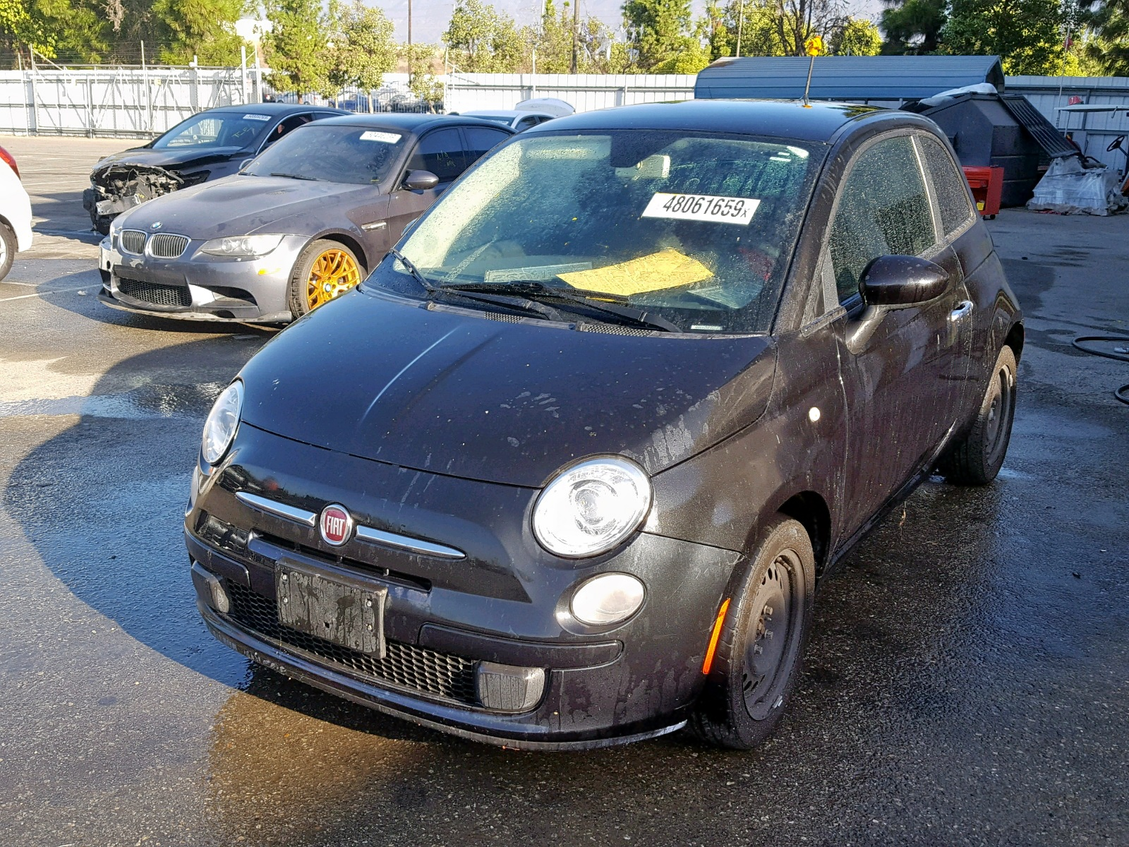 2012 Fiat 500 Pop 1.4L Right View
