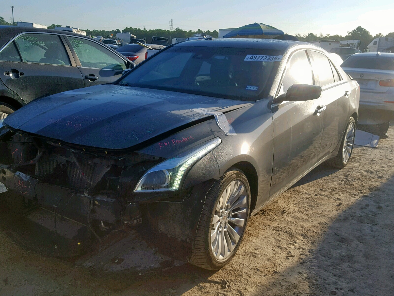 2014 Cadillac Cts Luxury 2.0L Right View