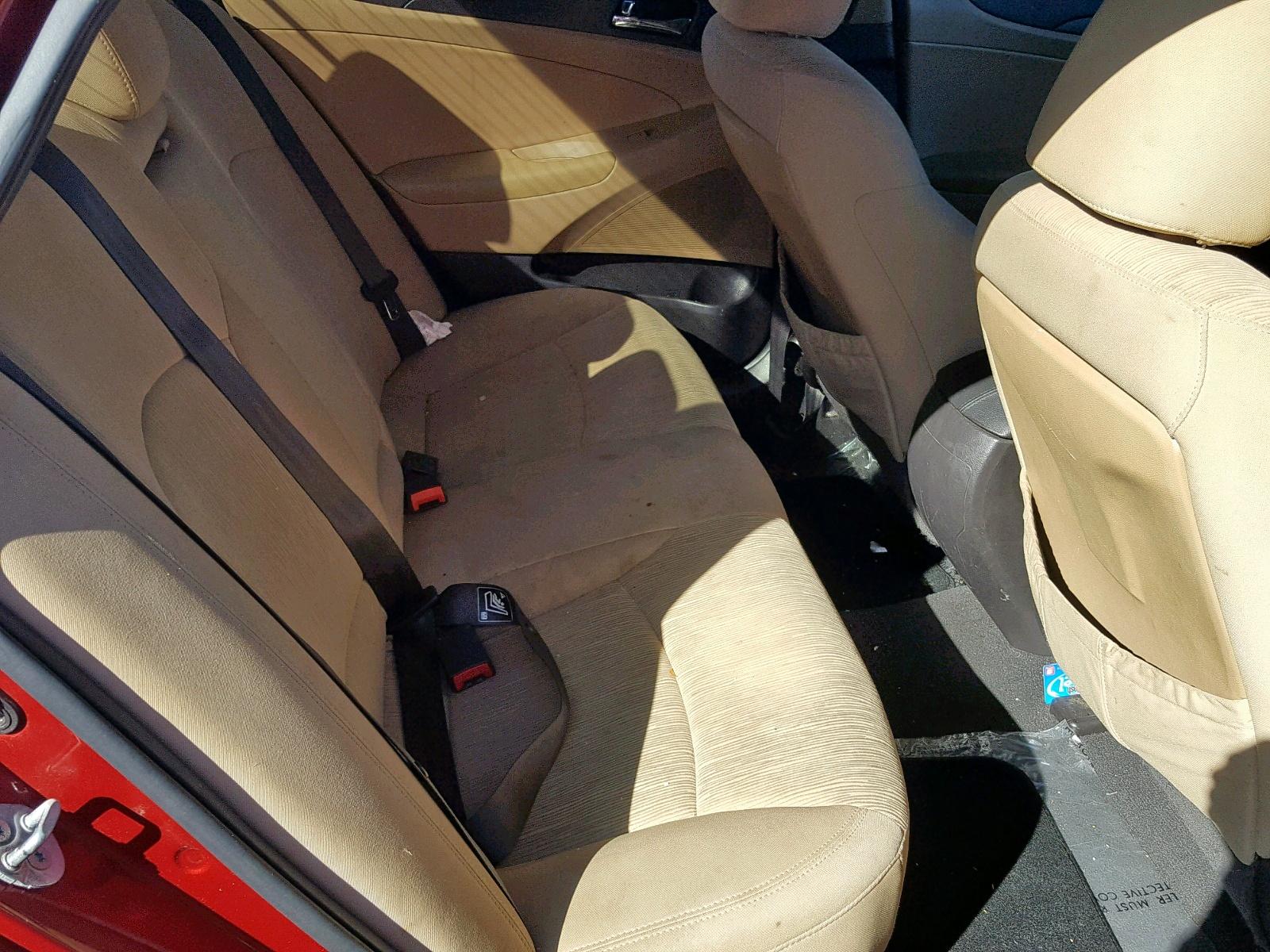 5NPEB4AC3BH042040 - 2011 Hyundai Sonata Gls 2.4L detail view