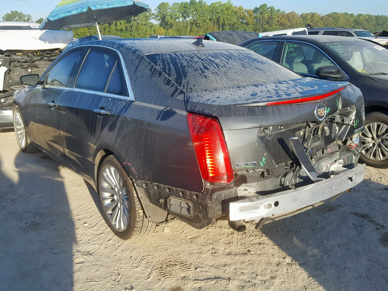 2014 Cadillac Cts Luxury 2.0L [Angle] View