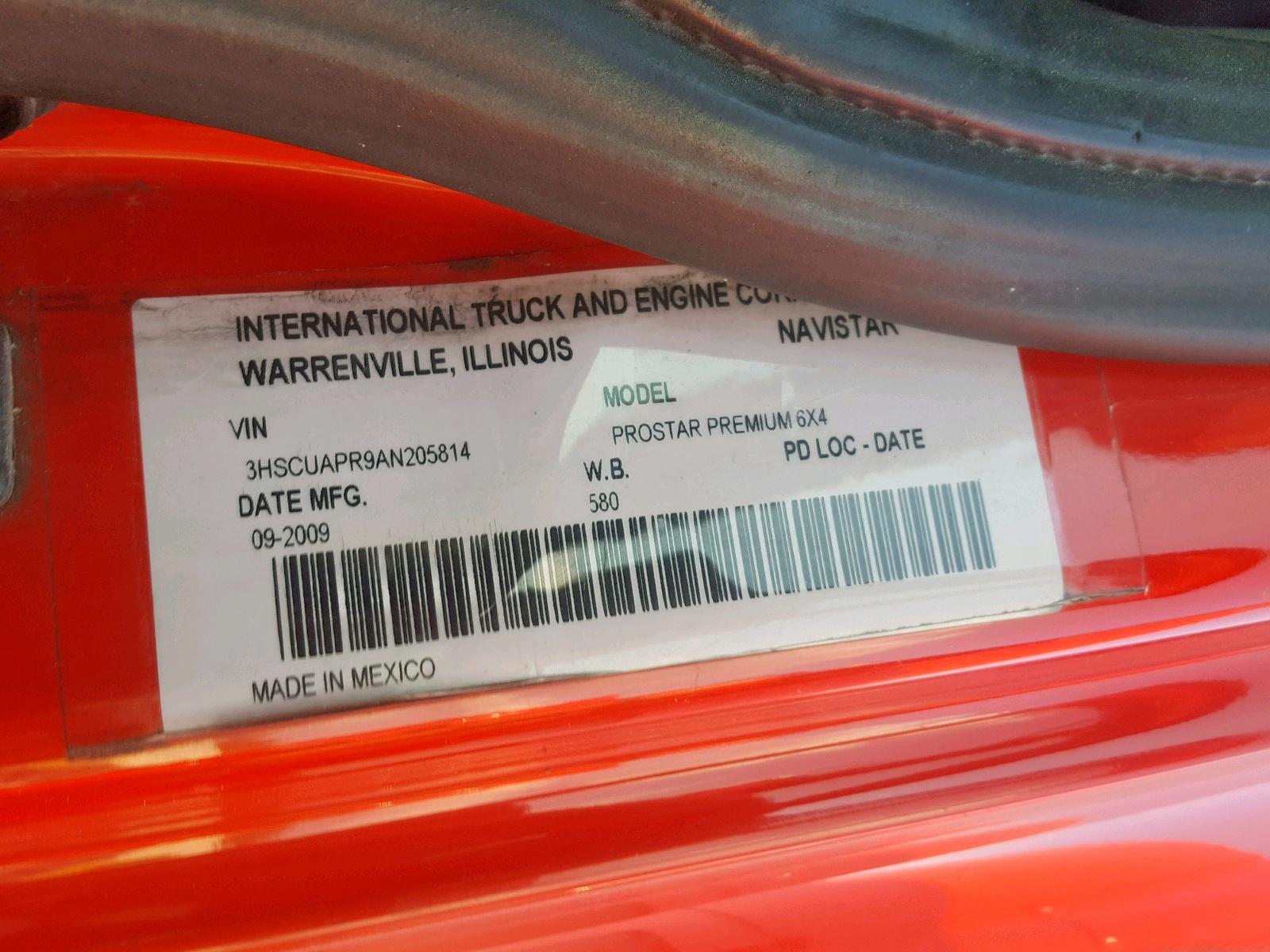 2010 International Prostar Pr 14.9L