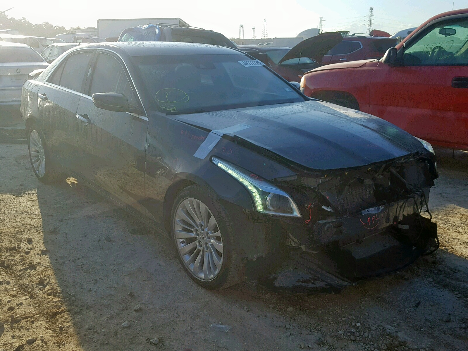2014 Cadillac Cts Luxury 2.0L Left View