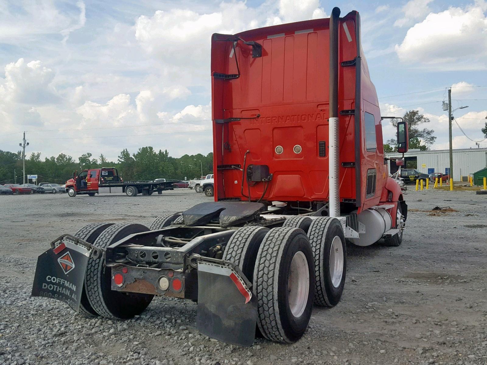 3HSCUAPR7AN193422 - 2010 International Prostar Pr 14.9L rear view