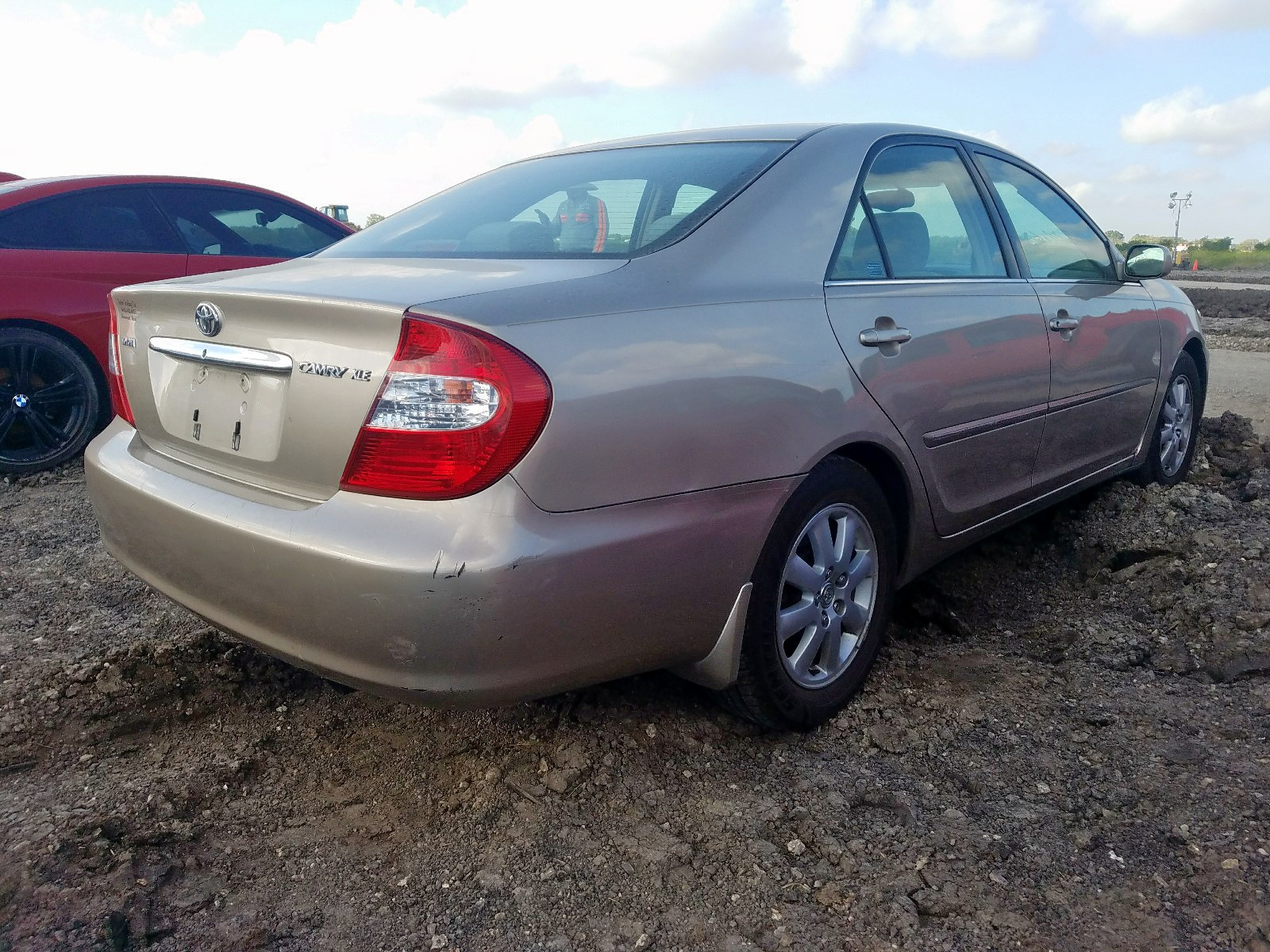 2002 Toyota Camry Le 2.4L rear view