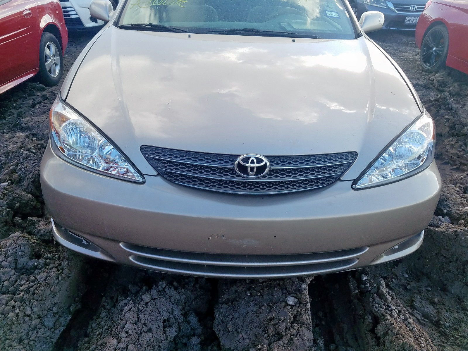 2002 Toyota Camry Le 2.4L engine view