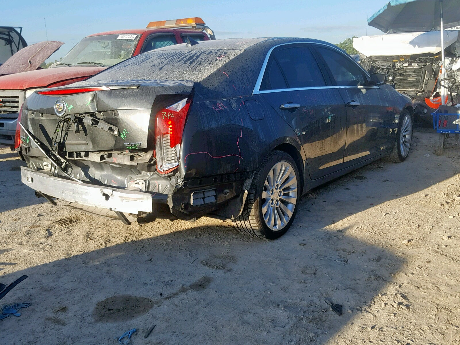 2014 Cadillac Cts Luxury 2.0L rear view