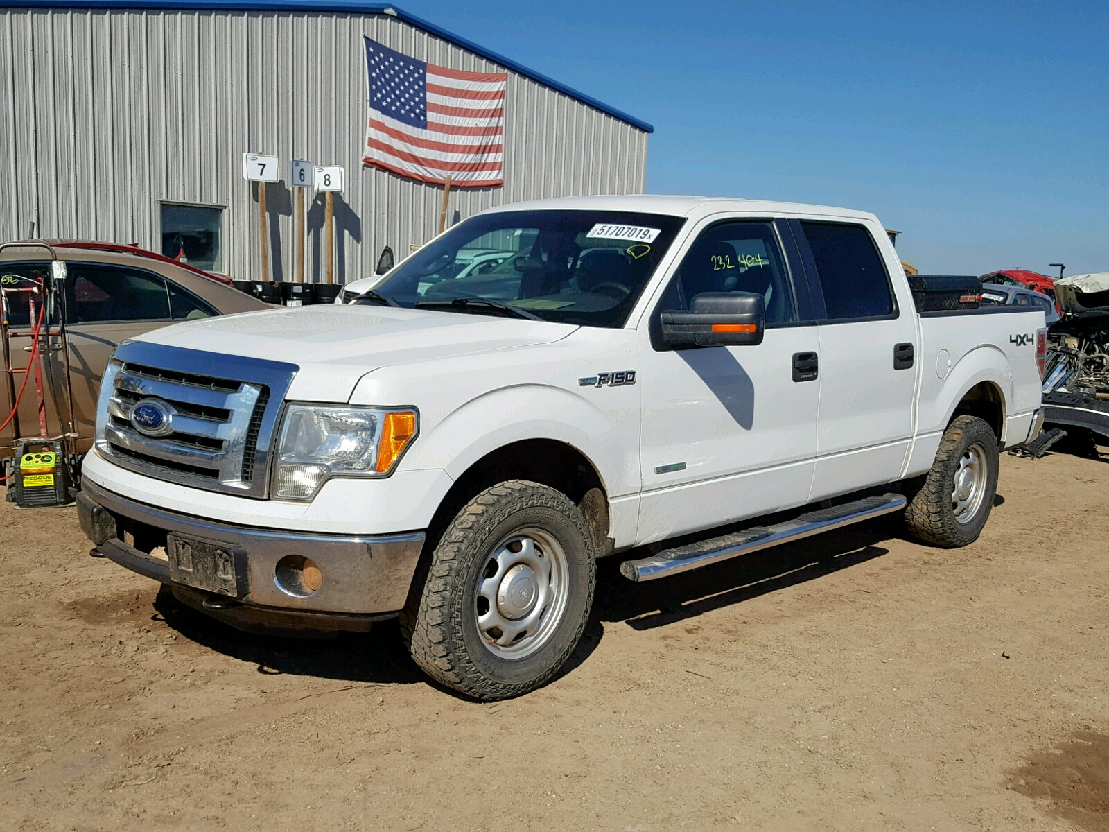1FTFW1ET8CFC76784 - 2012 Ford F150 Super 3.5L Right View