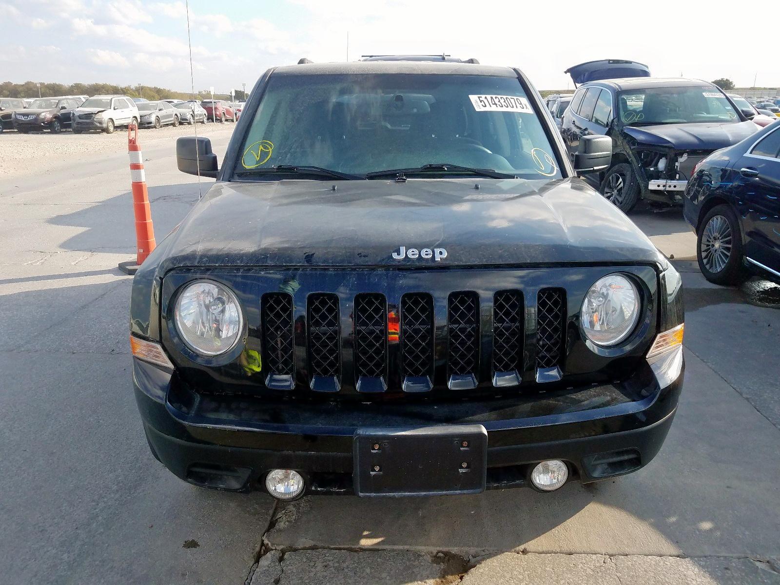 1C4NJPBB3DD213677 - 2013 Jeep Patriot Sp 2.4L engine view