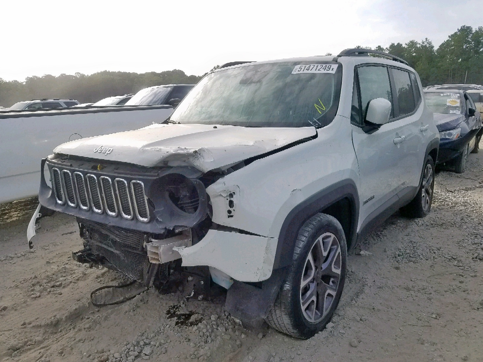 ZACCJABT0FPB69150 - 2015 Jeep Renegade L 2.4L Right View