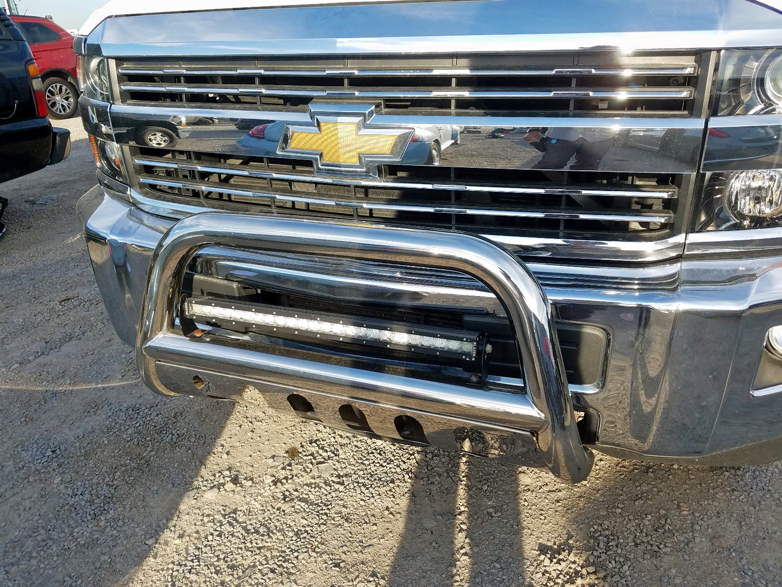 1GC1CVEG1GF279626 - 2016 Chevrolet Silverado 6.0L engine view