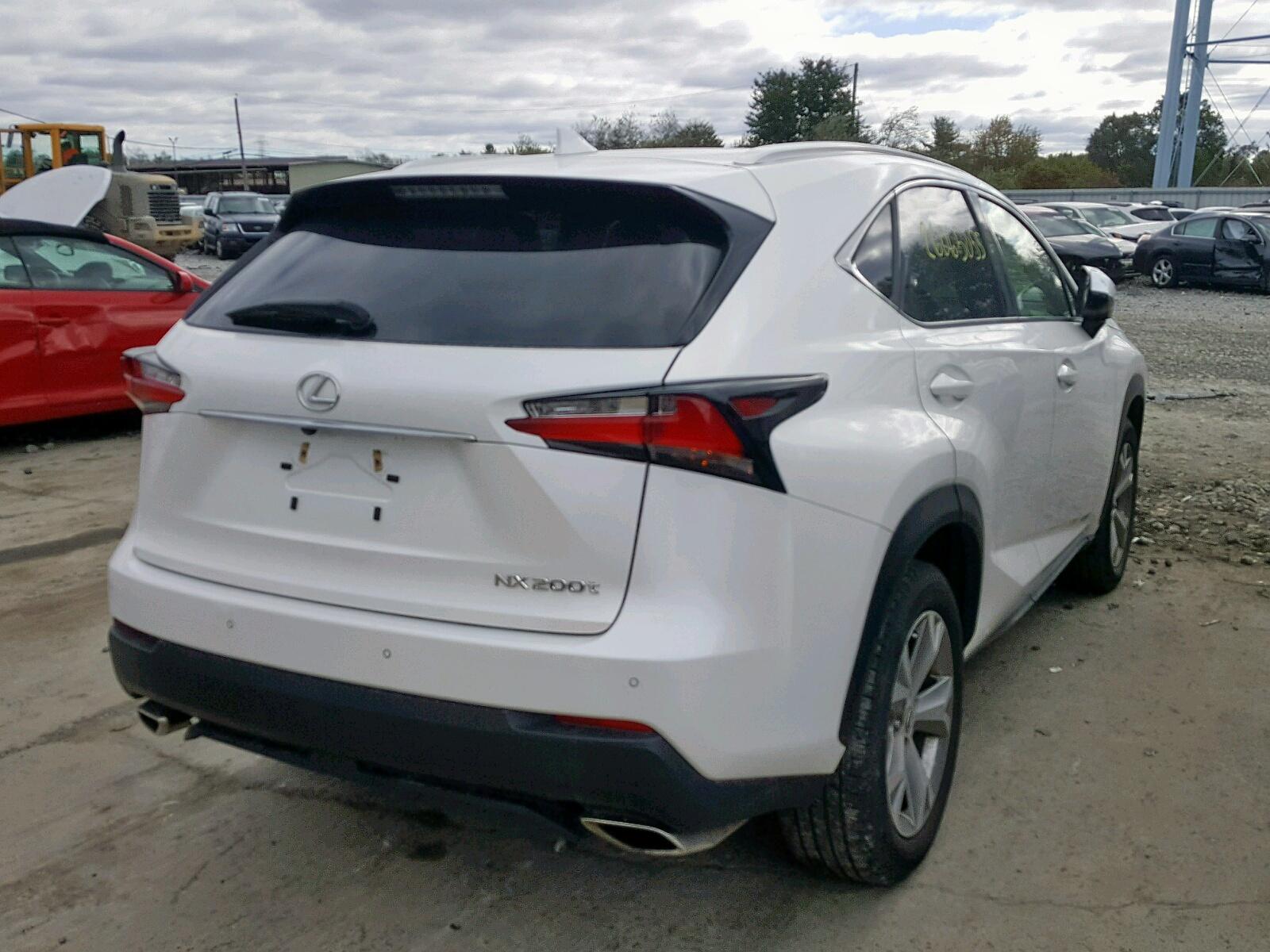 JTJBARBZ0H2096456 - 2017 Lexus Nx 200T Ba 2.0L rear view