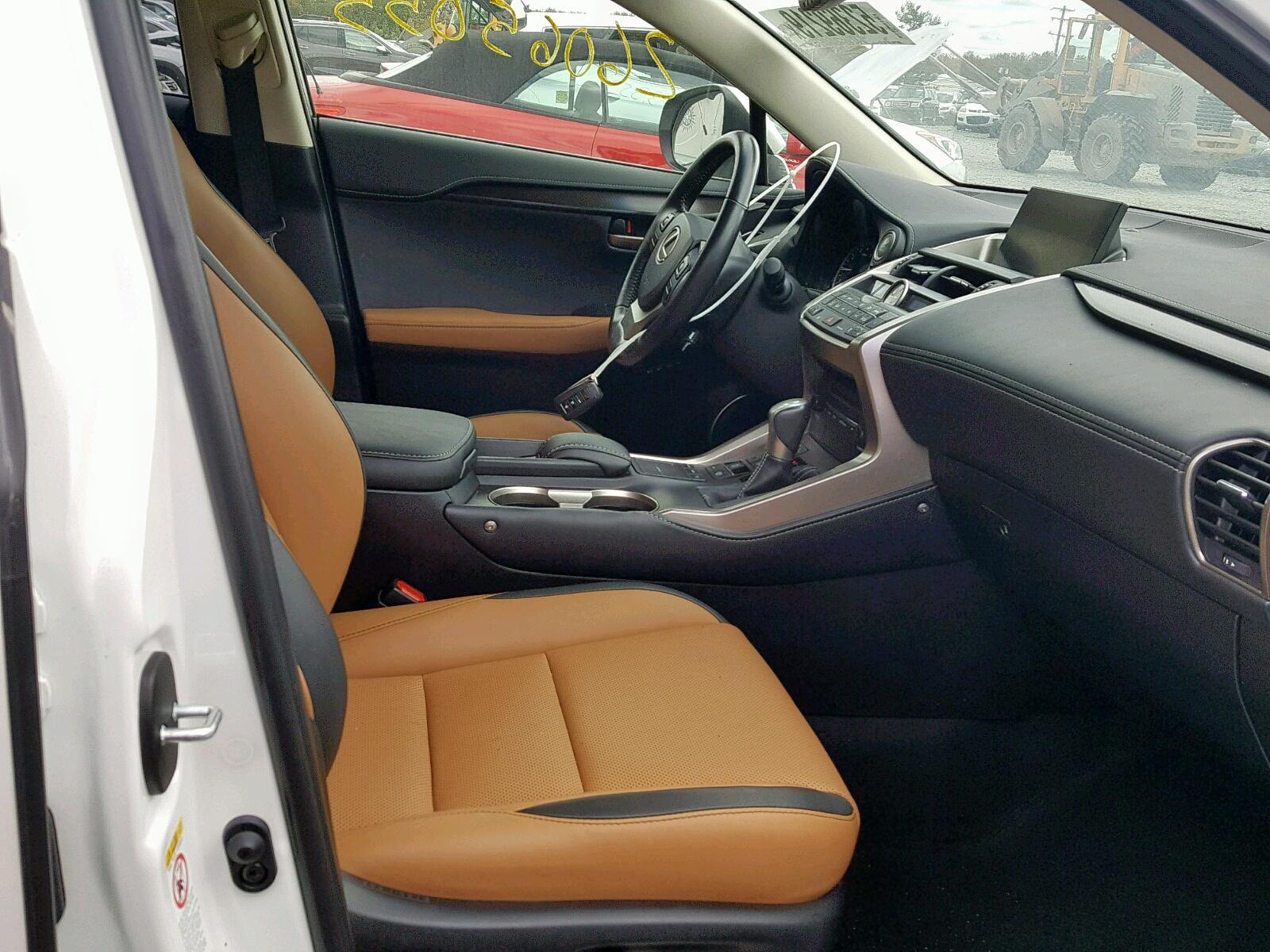 JTJBARBZ0H2096456 - 2017 Lexus Nx 200T Ba 2.0L close up View