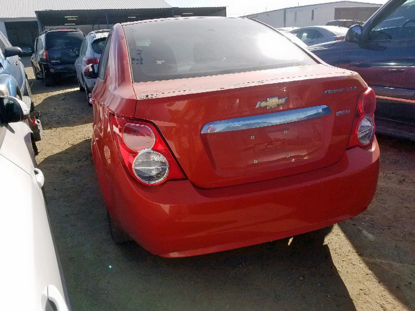 1G1JE5SB5D4141137 - 2013 Chevrolet Sonic Ltz 1.4L [Angle] View