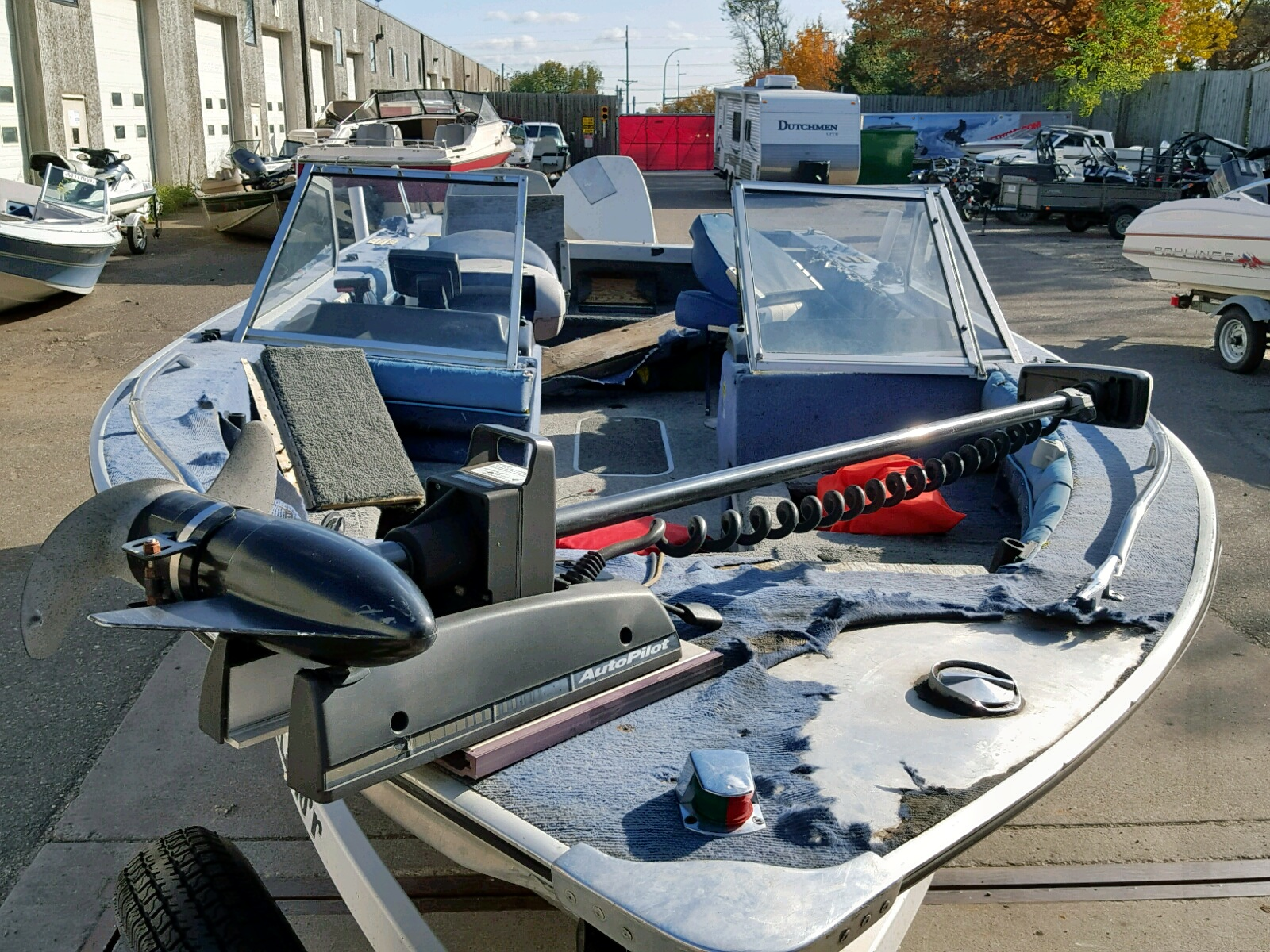 1988 Bluf Boat front view