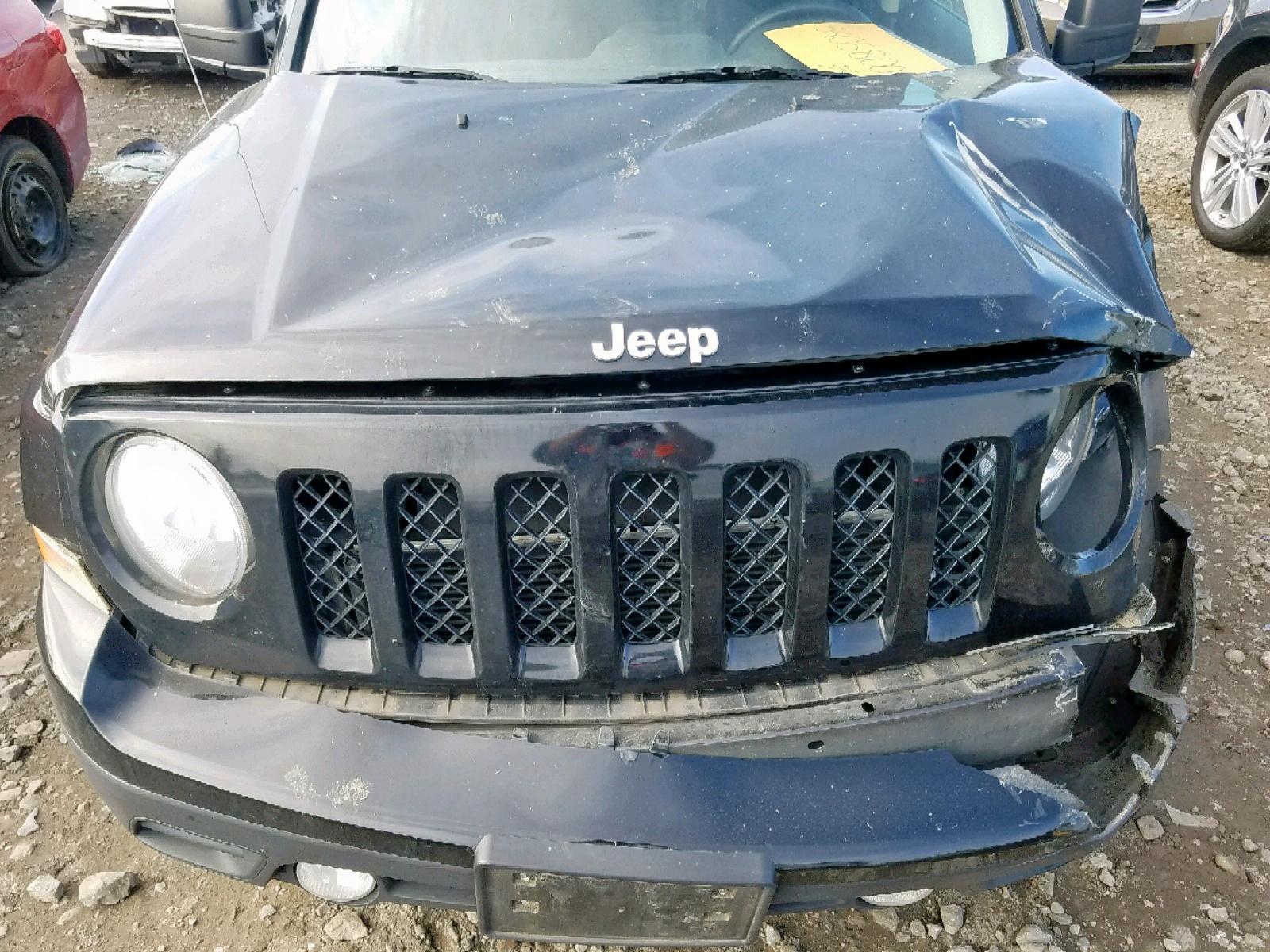 2013 Jeep Patriot Sp 2.0L inside view