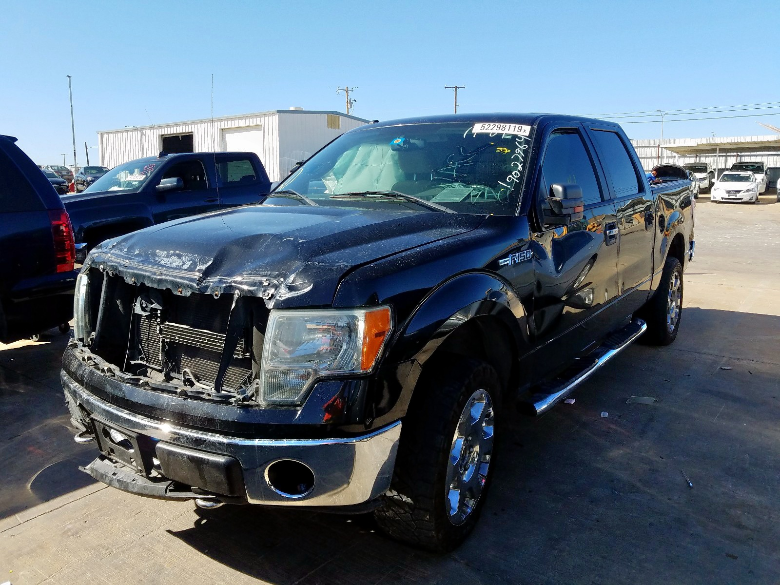 1FTFW1EV9AFC37619 - 2010 Ford F150 Super 5.4L Right View