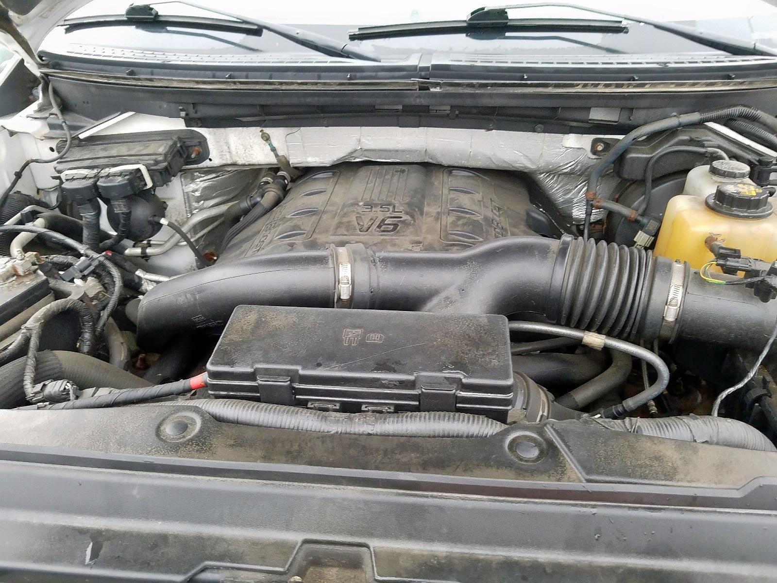 2012 Ford F150 Super 3.5L inside view