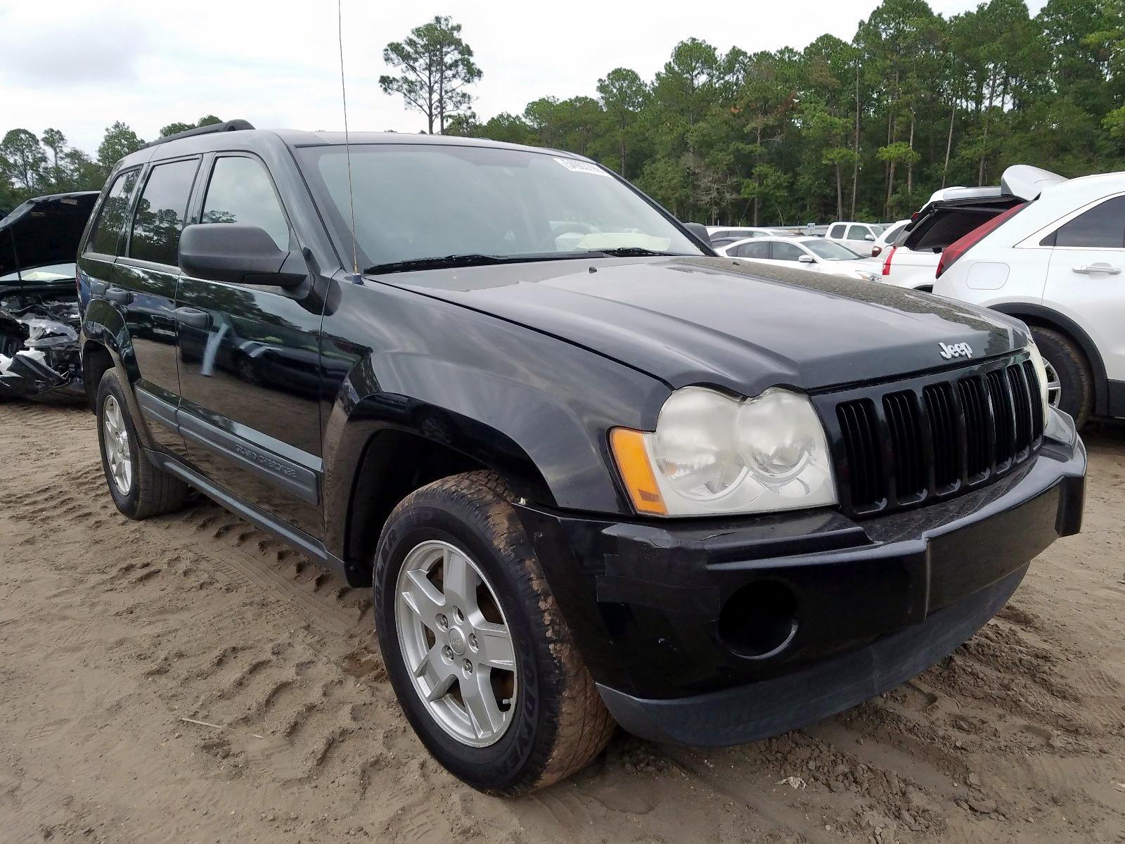 1J4GS48KX6C112697 - 2006 Jeep Grand Cher 3.7L Left View