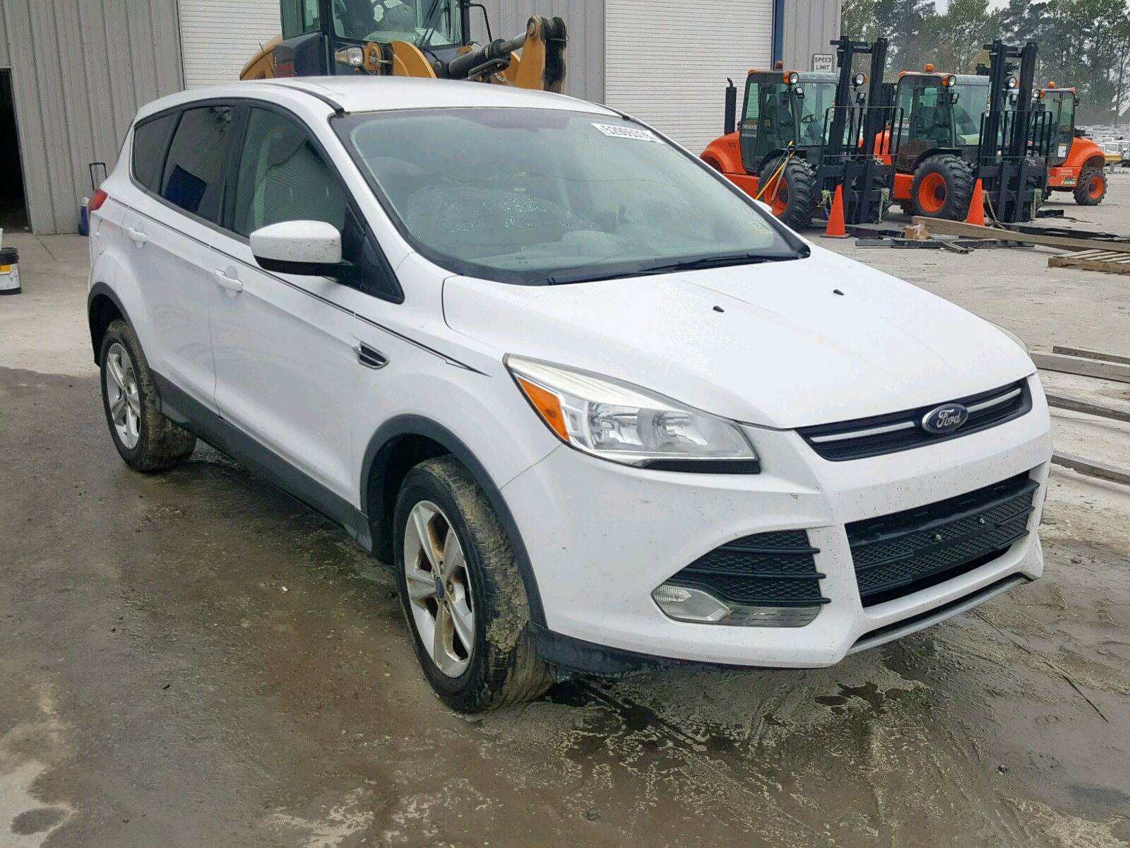 1FMCU9GX2DUD24425 - 2013 Ford Escape Se 1.6L Left View
