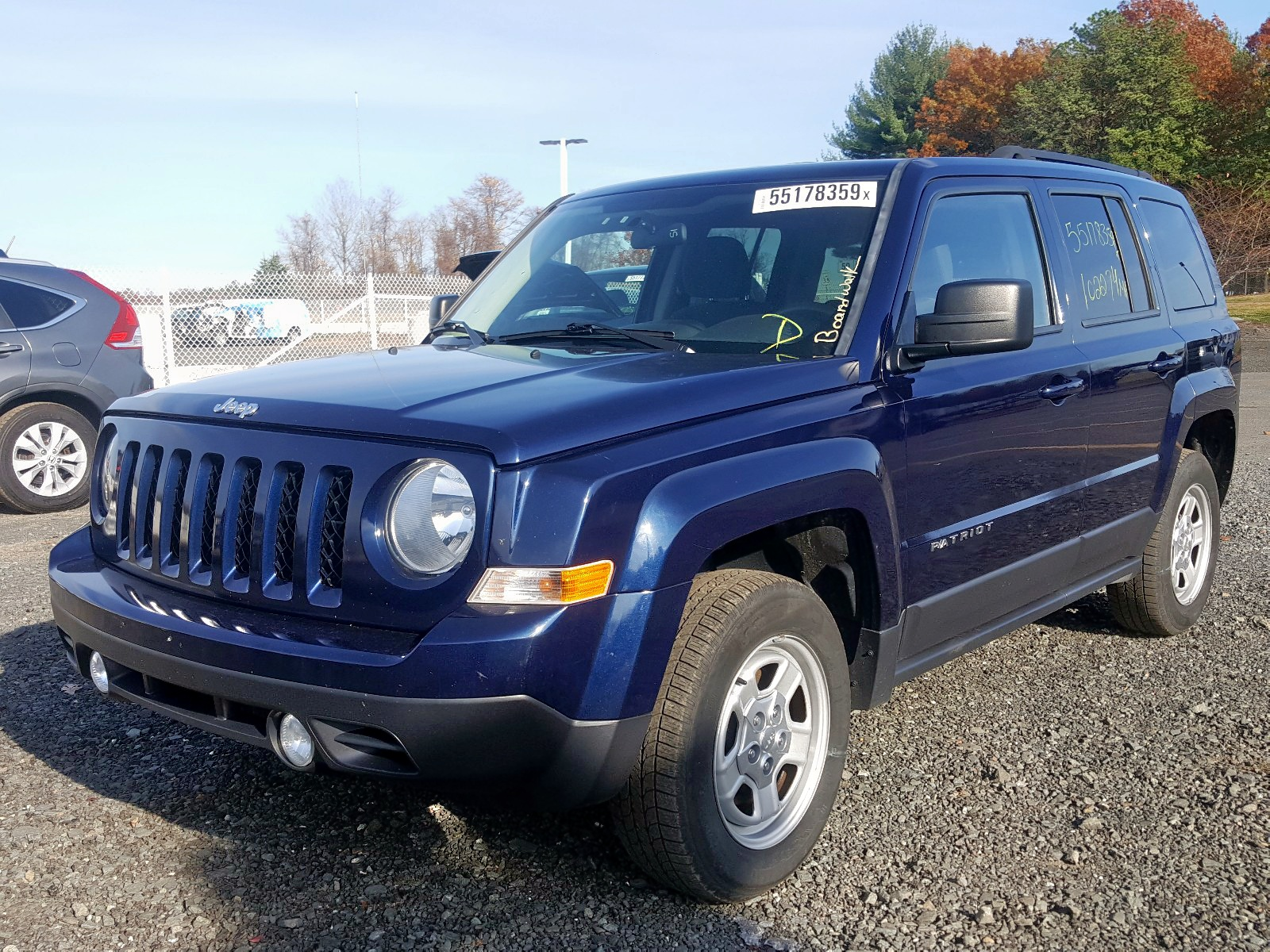 2015 Jeep Patriot Sp 2.4L Right View