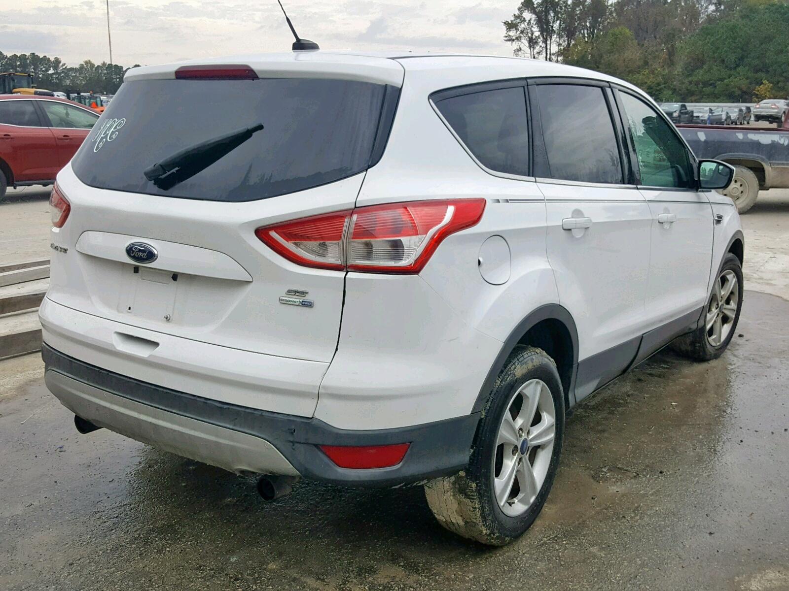 1FMCU9GX2DUD24425 - 2013 Ford Escape Se 1.6L rear view
