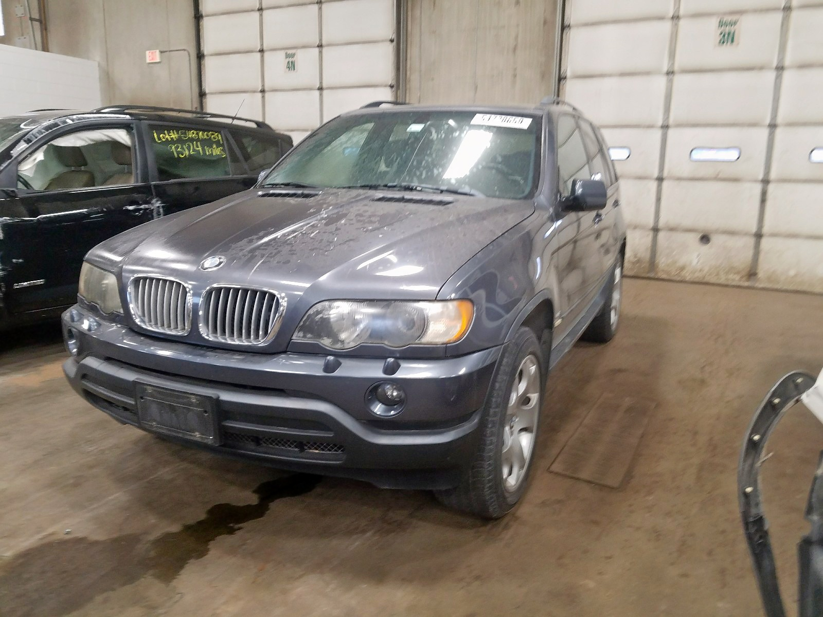 2003 Bmw X5 4.4I 4.4L Right View