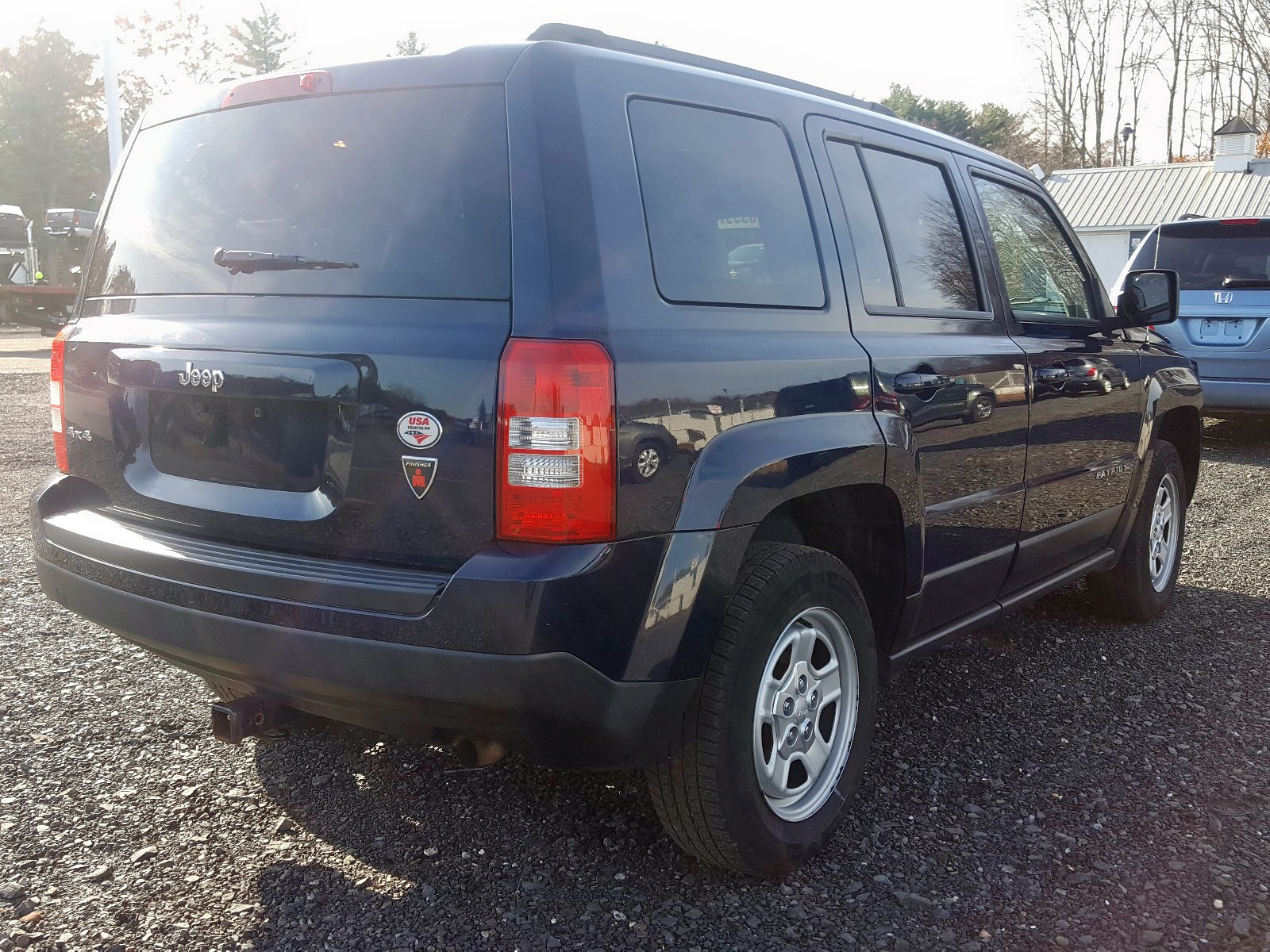 2015 Jeep Patriot Sp 2.4L rear view