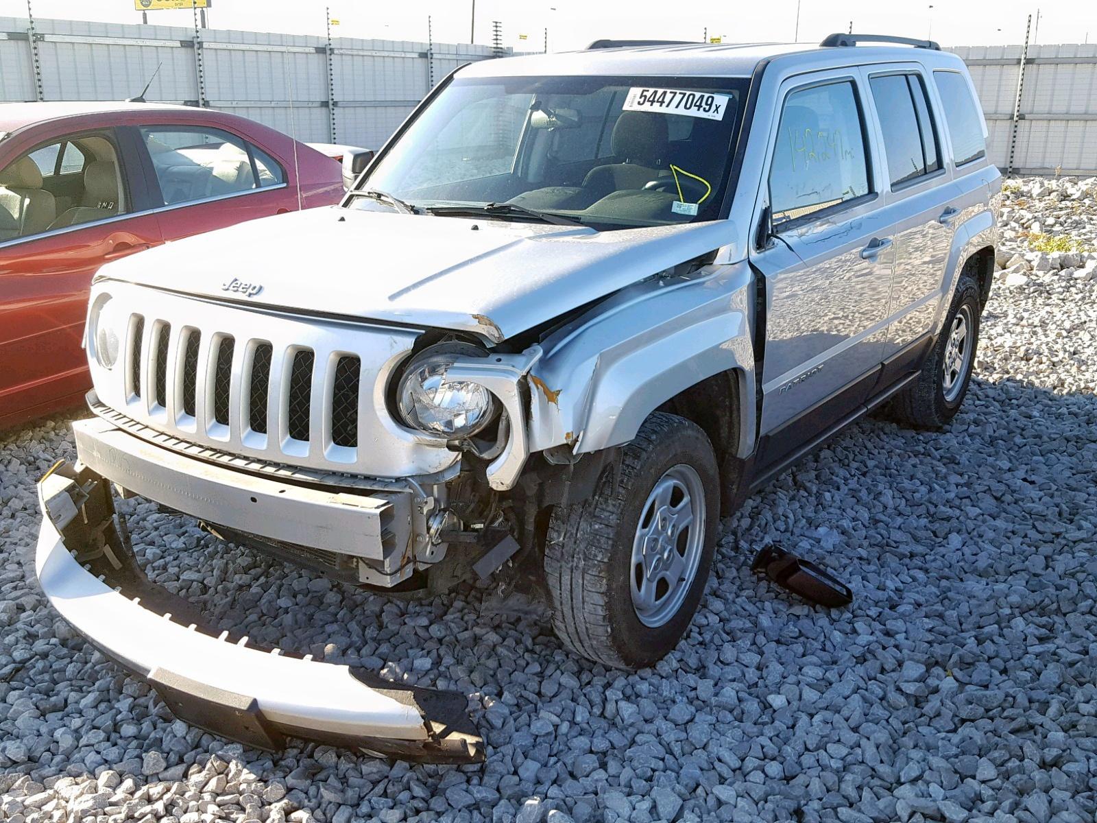 1C4NJPBA5DD272382 - 2013 Jeep Patriot Sp 2.0L Right View