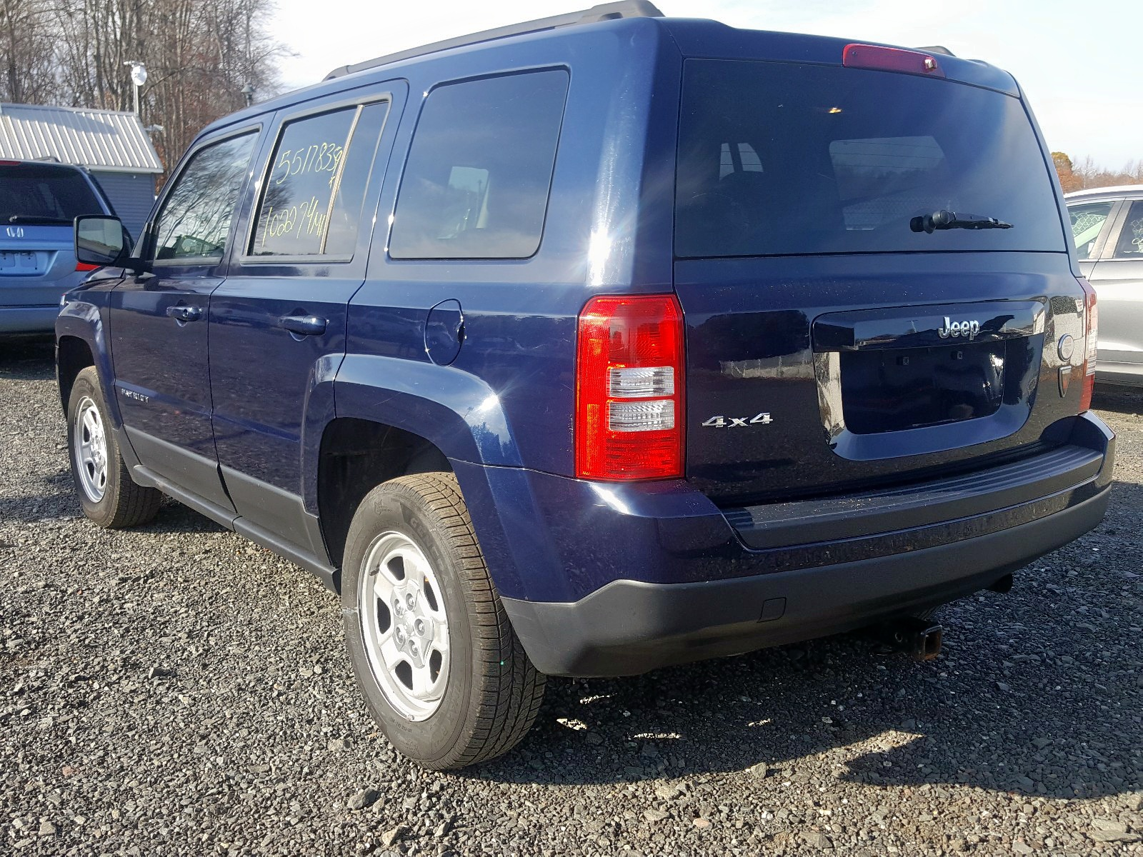 2015 Jeep Patriot Sp 2.4L [Angle] View