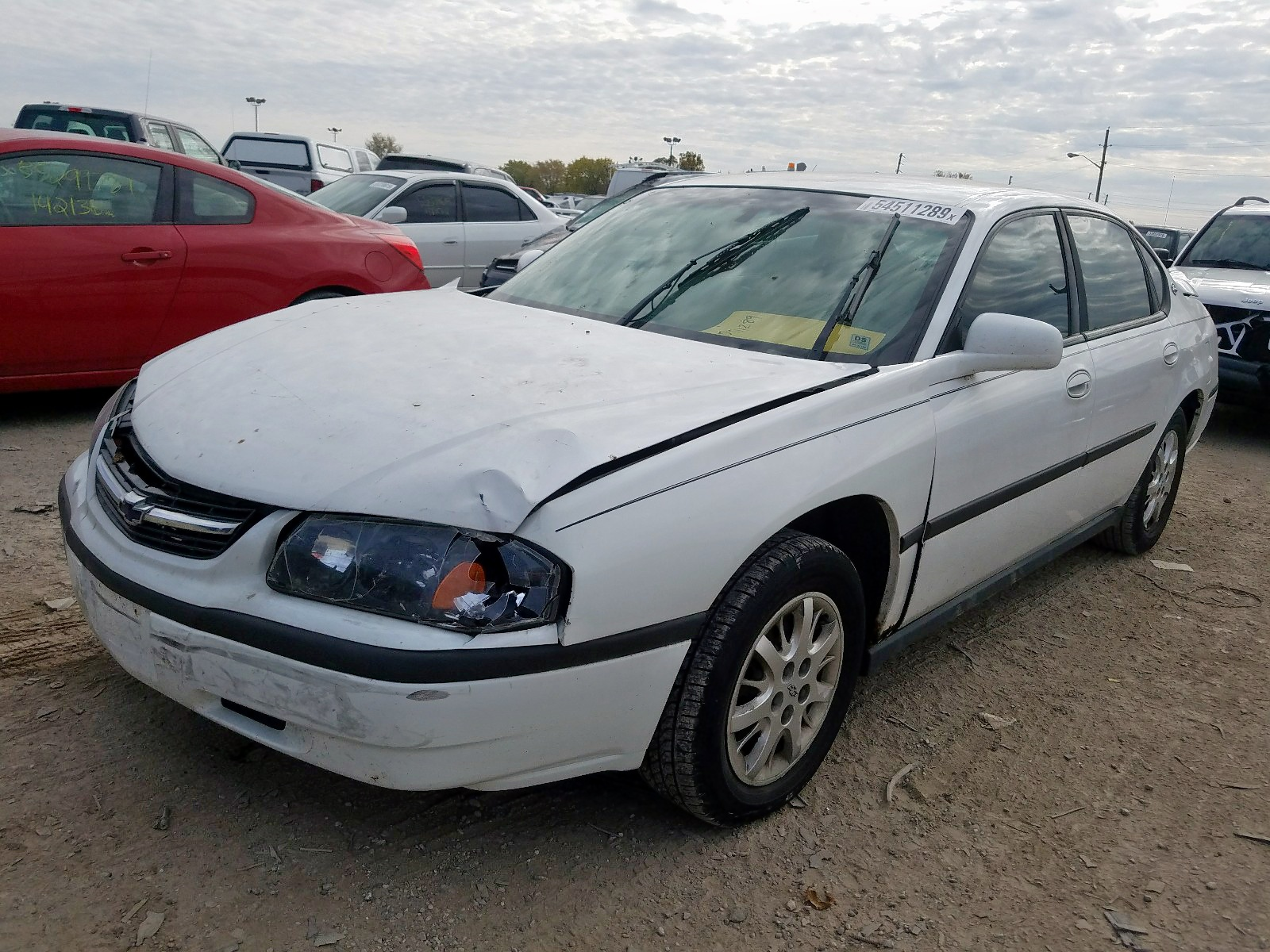 2G1WF52E4Y9281339 - 2000 Chevrolet Impala 3.4L Right View