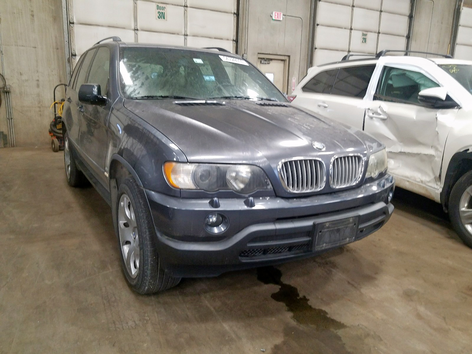 2003 Bmw X5 4.4I 4.4L Left View