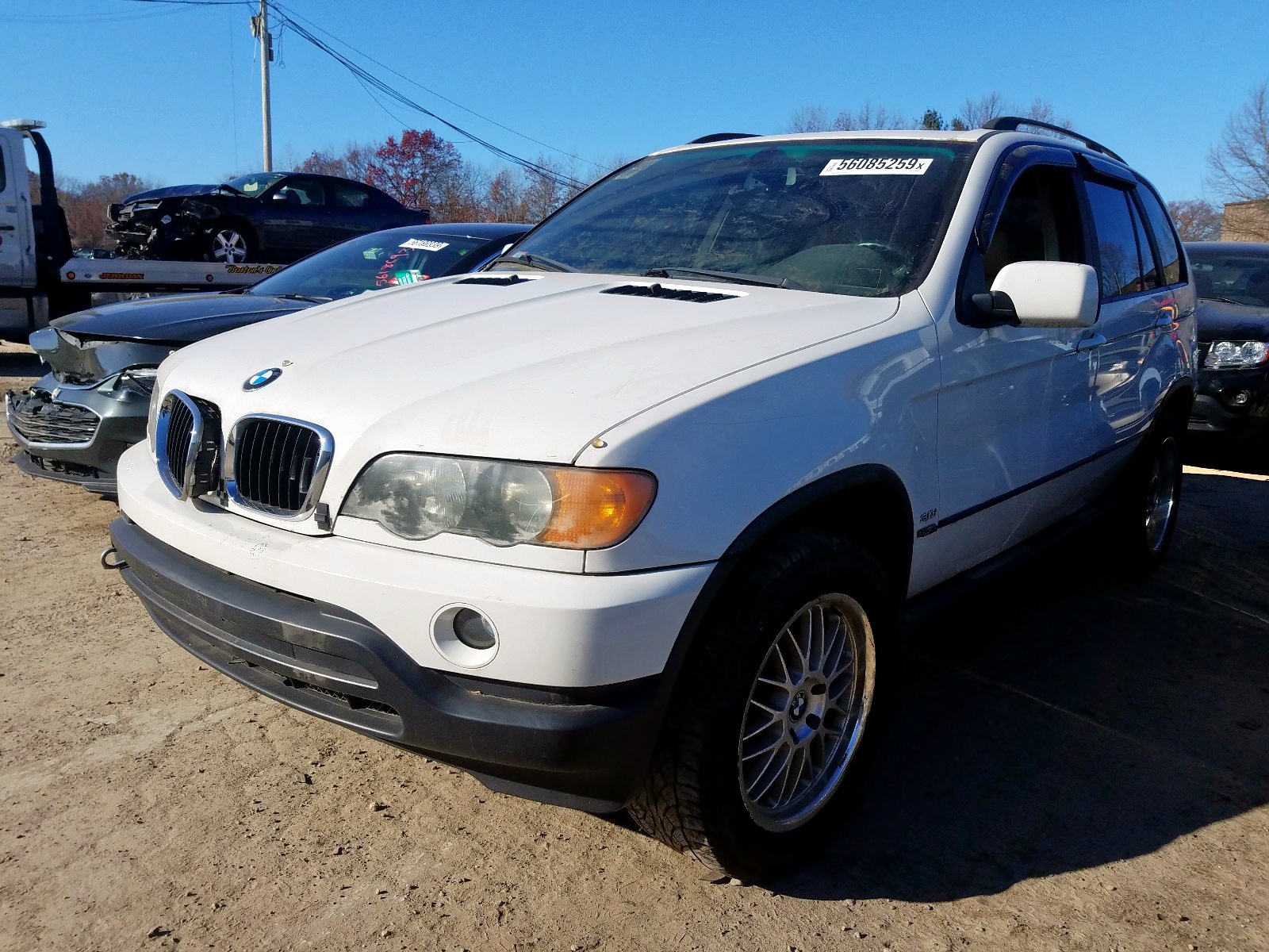 5UXFA53543LV76249 - 2003 Bmw X5 3.0I 3.0L Right View