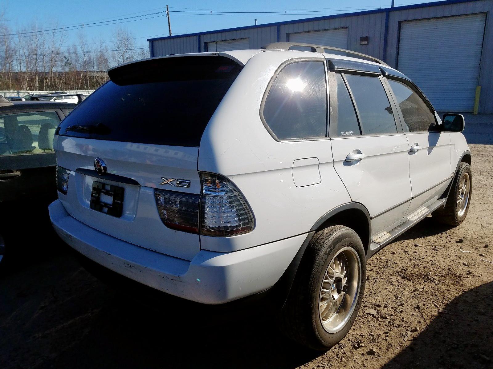 5UXFA53543LV76249 - 2003 Bmw X5 3.0I 3.0L rear view