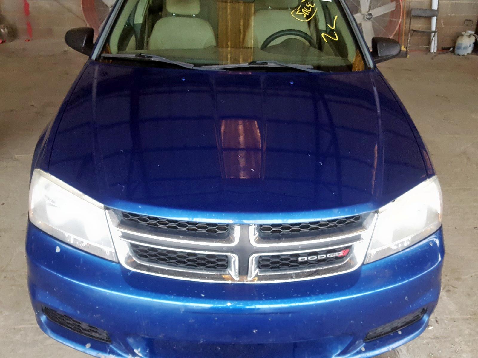 1C3CDZAGXCN322044 - 2012 Dodge Avenger Se 3.6L engine view