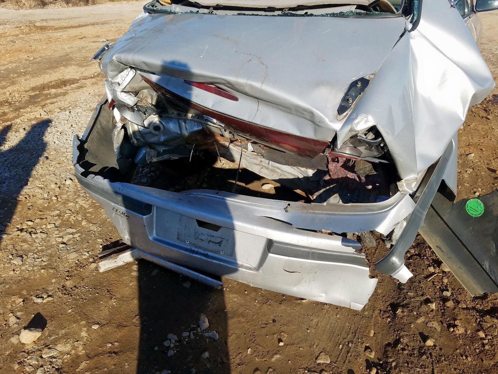 2G1WH55K5Y9130344 - 2000 Chevrolet Impala Ls 3.8L engine view