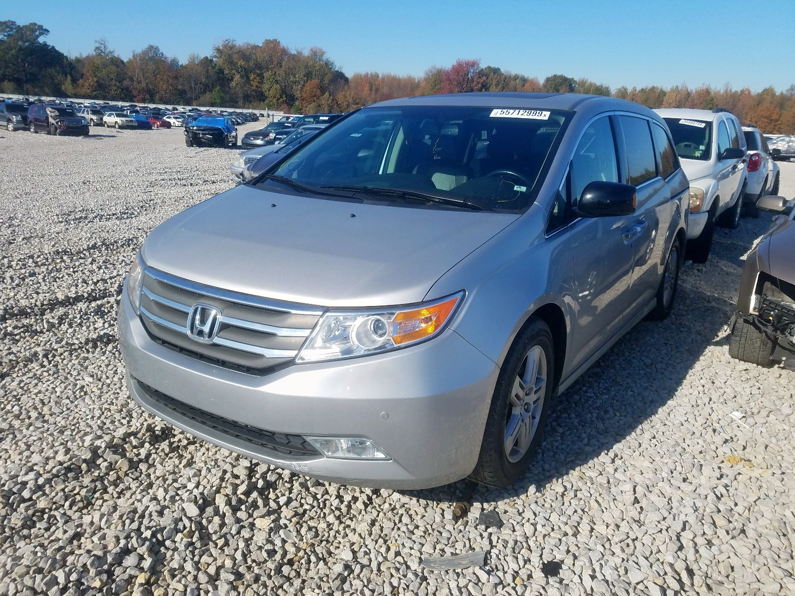 2013 Honda Odyssey To 3.5L Right View
