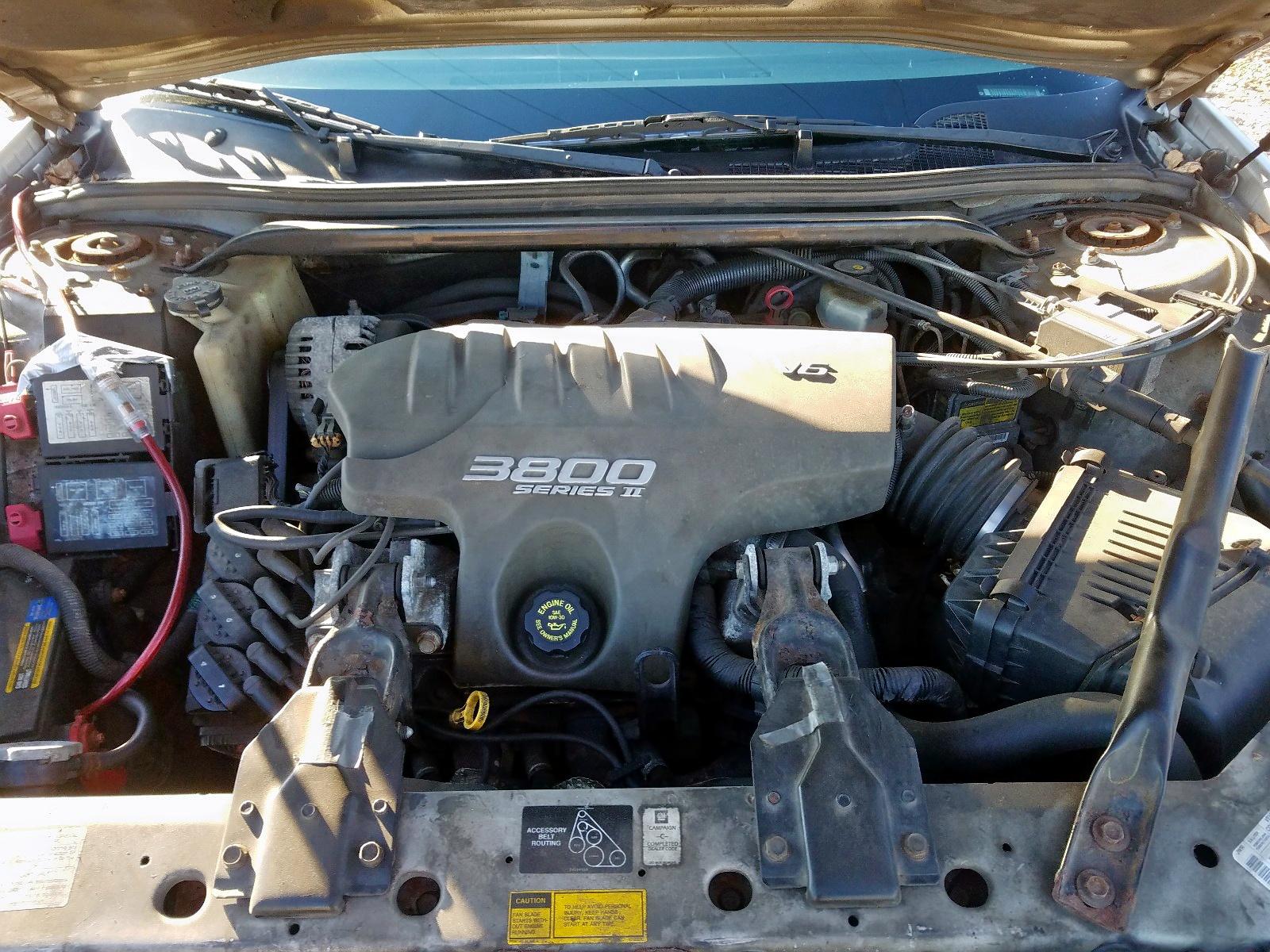 2G1WH55K5Y9130344 - 2000 Chevrolet Impala Ls 3.8L inside view