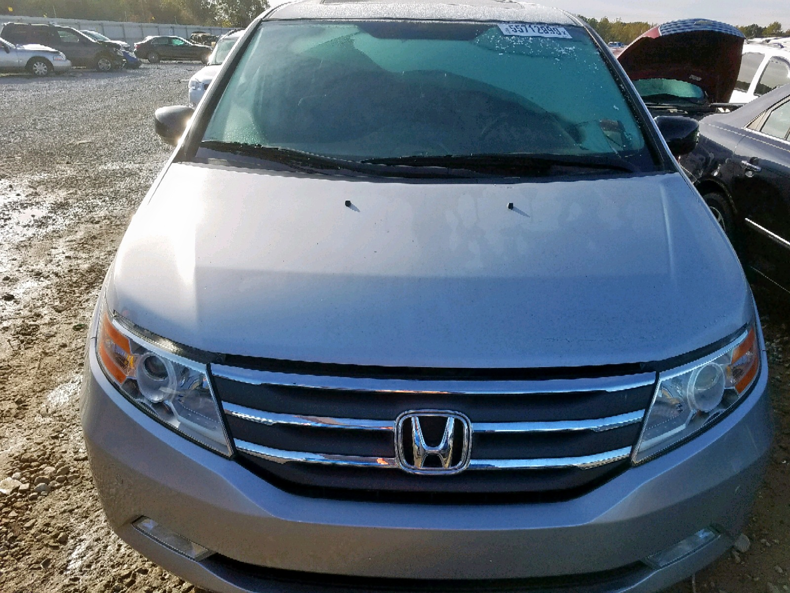 2013 Honda Odyssey To 3.5L engine view