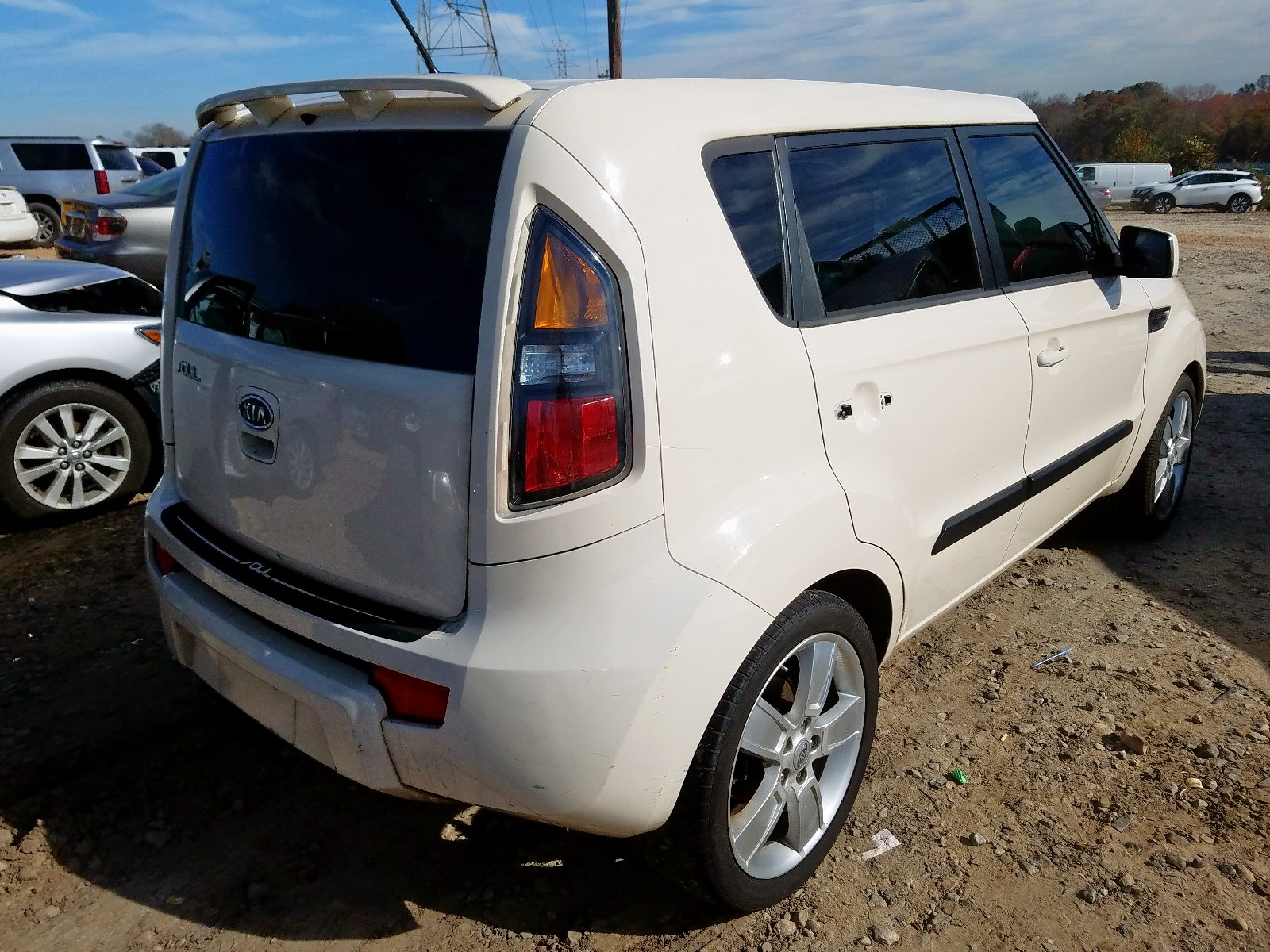 2011 Kia Soul + 2.0L rear view