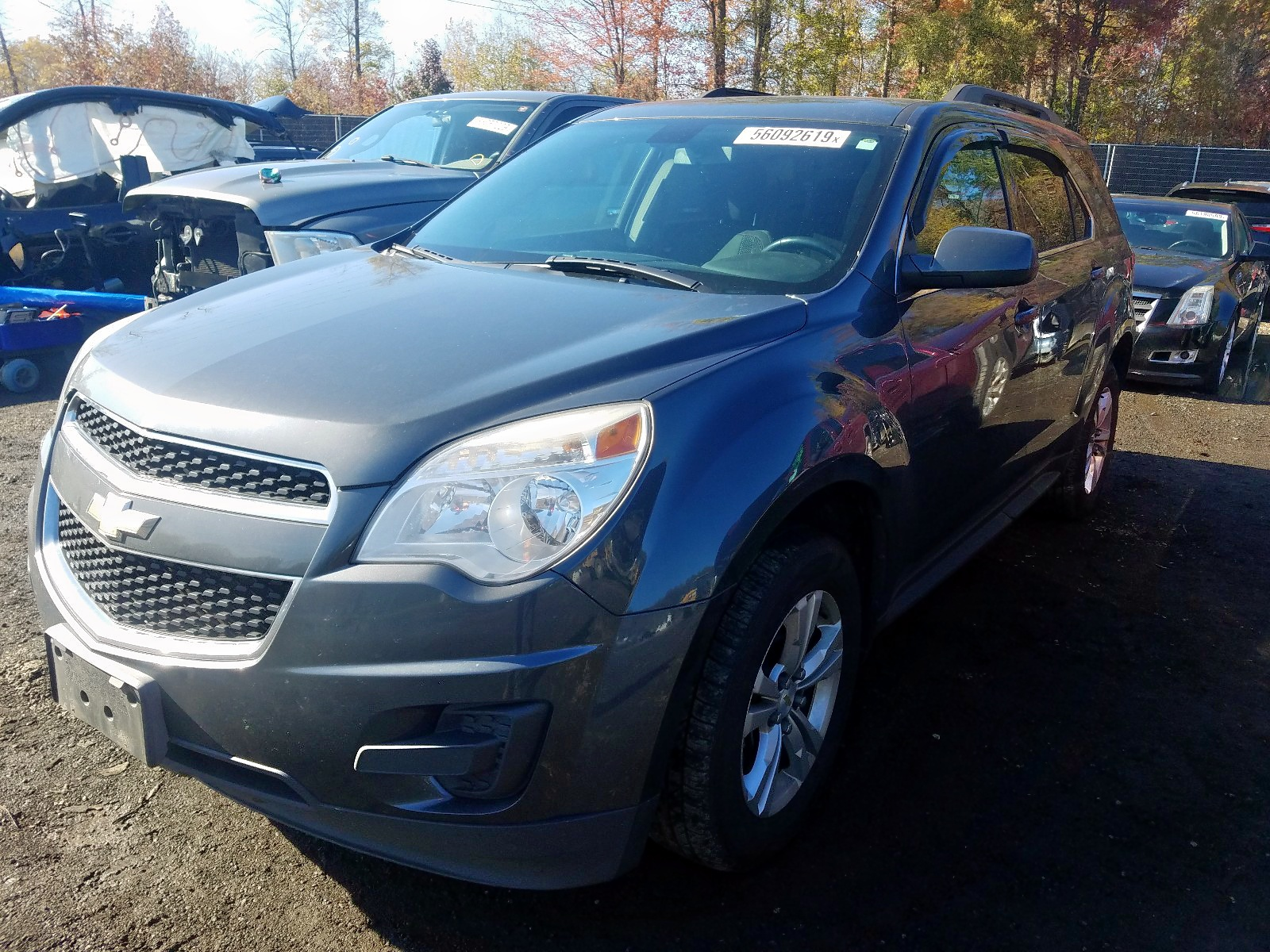 2CNFLEEC8B6219120 - 2011 Chevrolet Equinox Lt 2.4L Right View