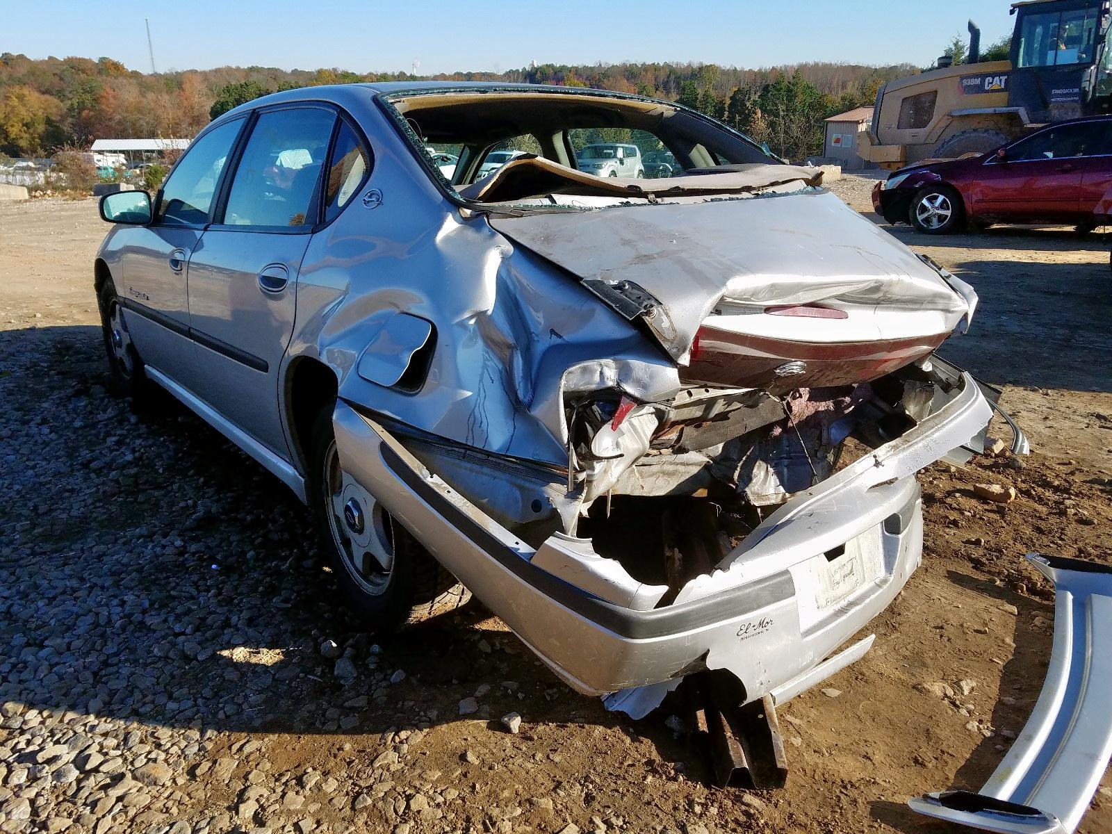 2G1WH55K5Y9130344 - 2000 Chevrolet Impala Ls 3.8L [Angle] View