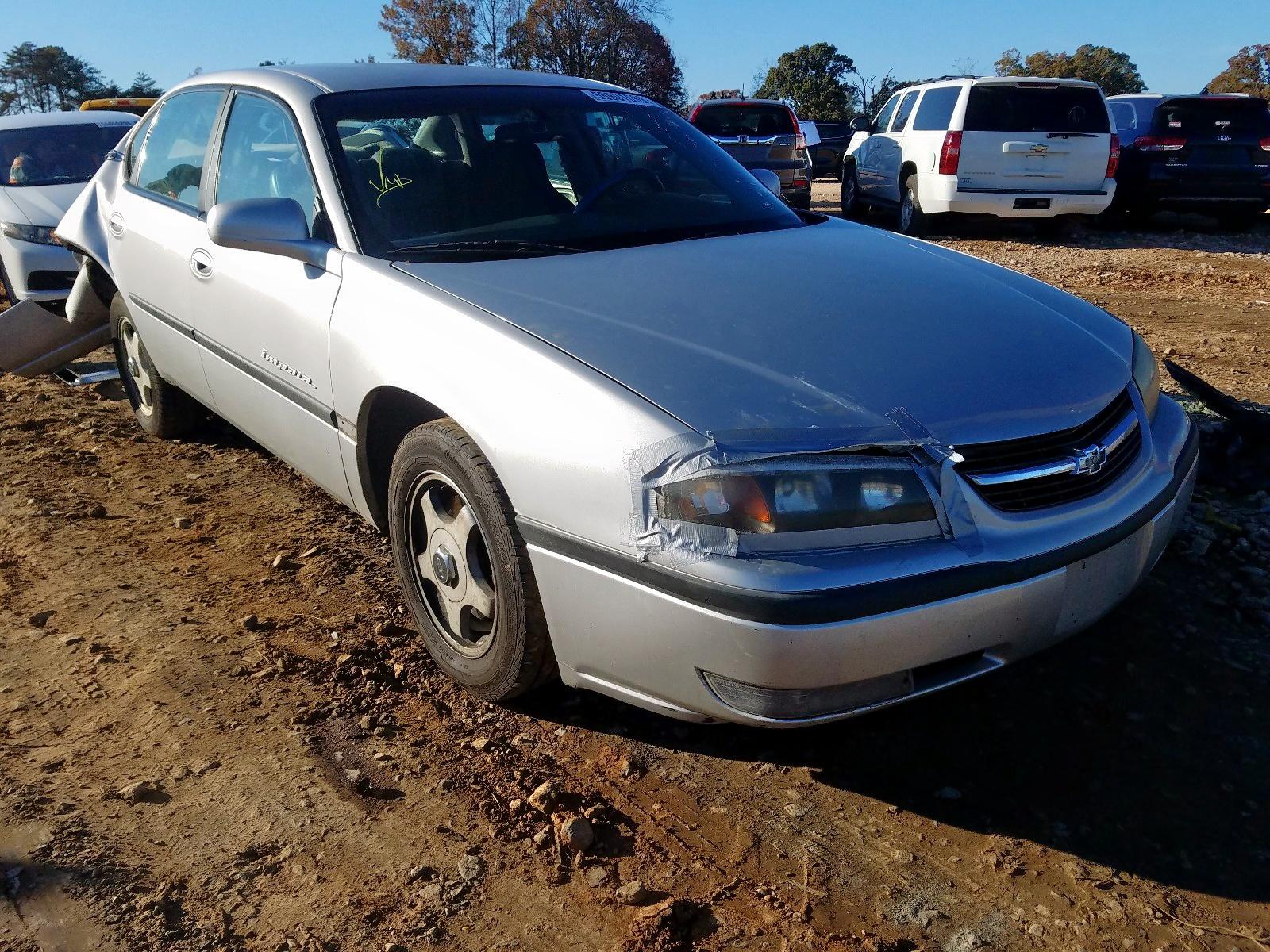 2G1WH55K5Y9130344 - 2000 Chevrolet Impala Ls 3.8L Left View