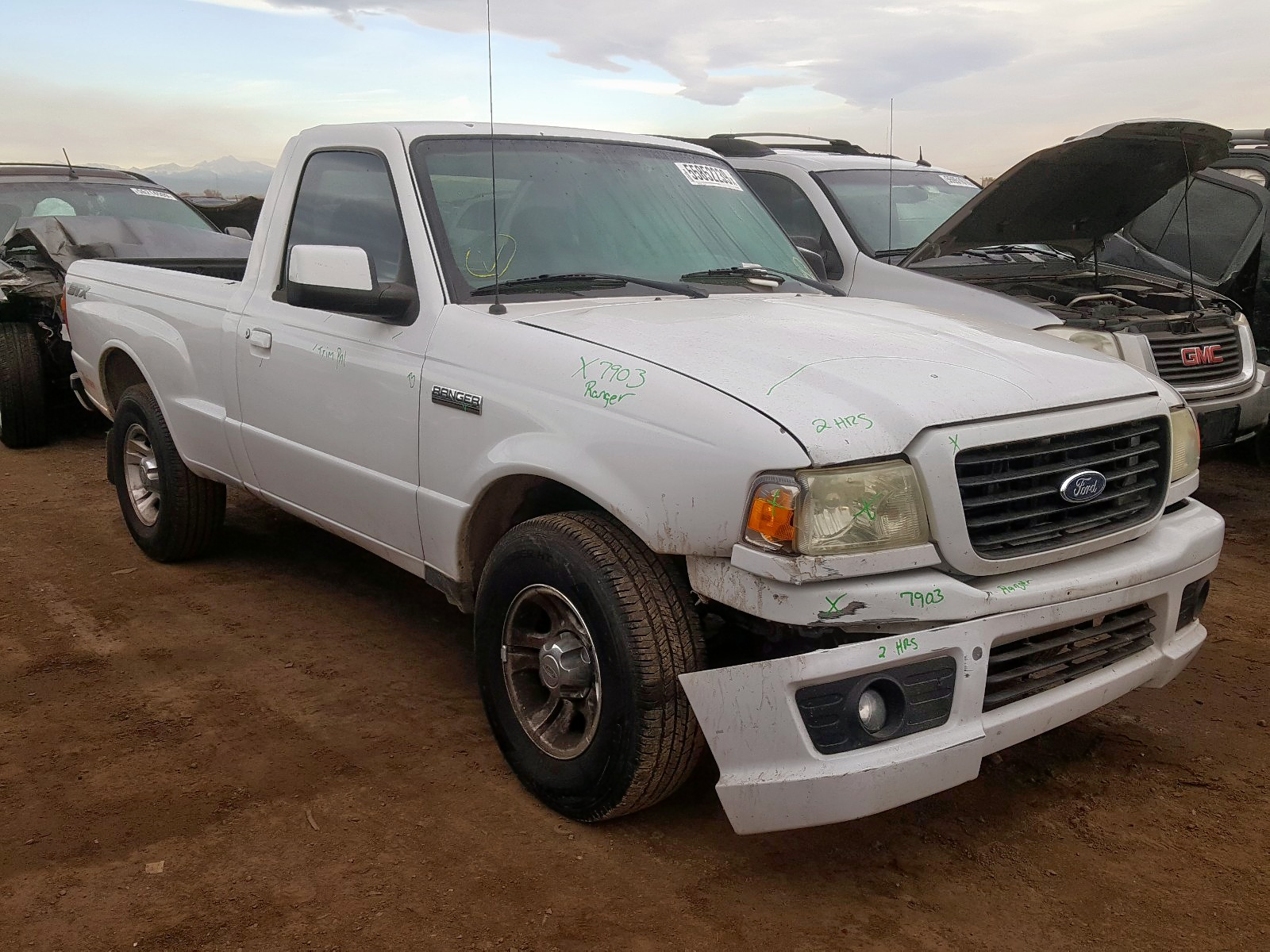 1FTYR10U26PA04908 - 2006 Ford Ranger 3.0L Left View