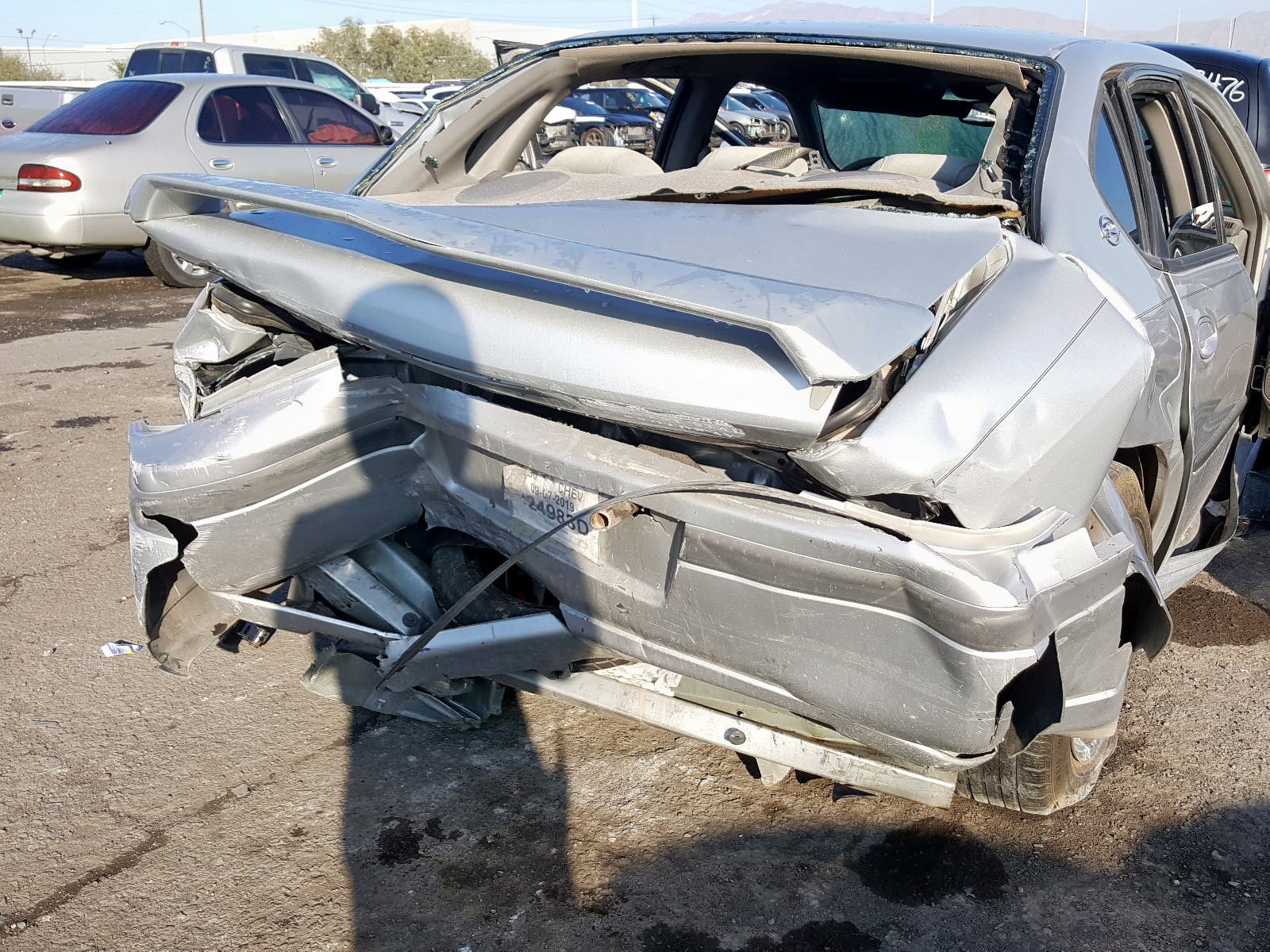 2000 Chevrolet Impala Ls 3.8L engine view
