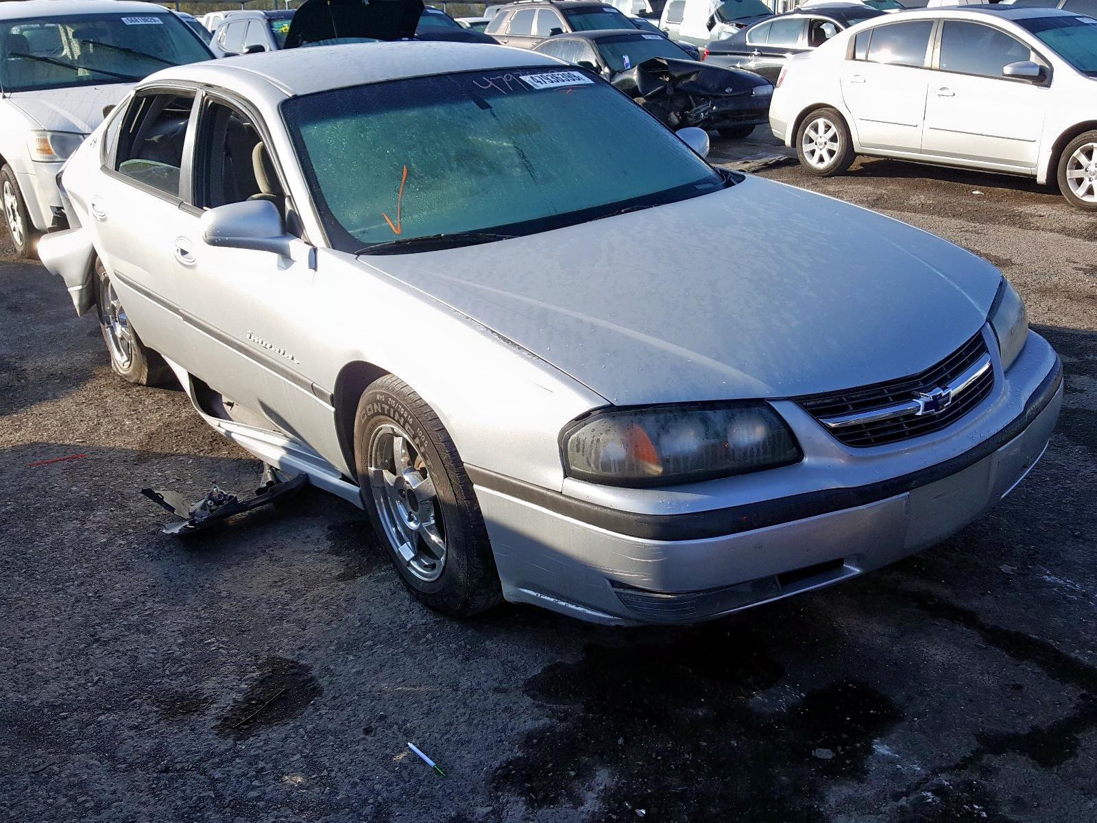 2000 Chevrolet Impala Ls 3.8L Left View
