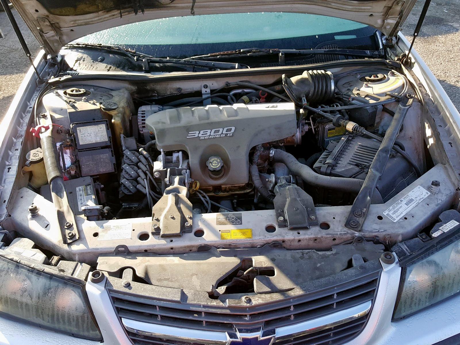 2000 Chevrolet Impala Ls 3.8L inside view