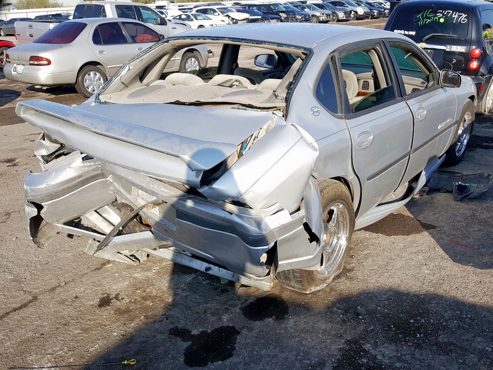 2000 Chevrolet Impala Ls 3.8L rear view